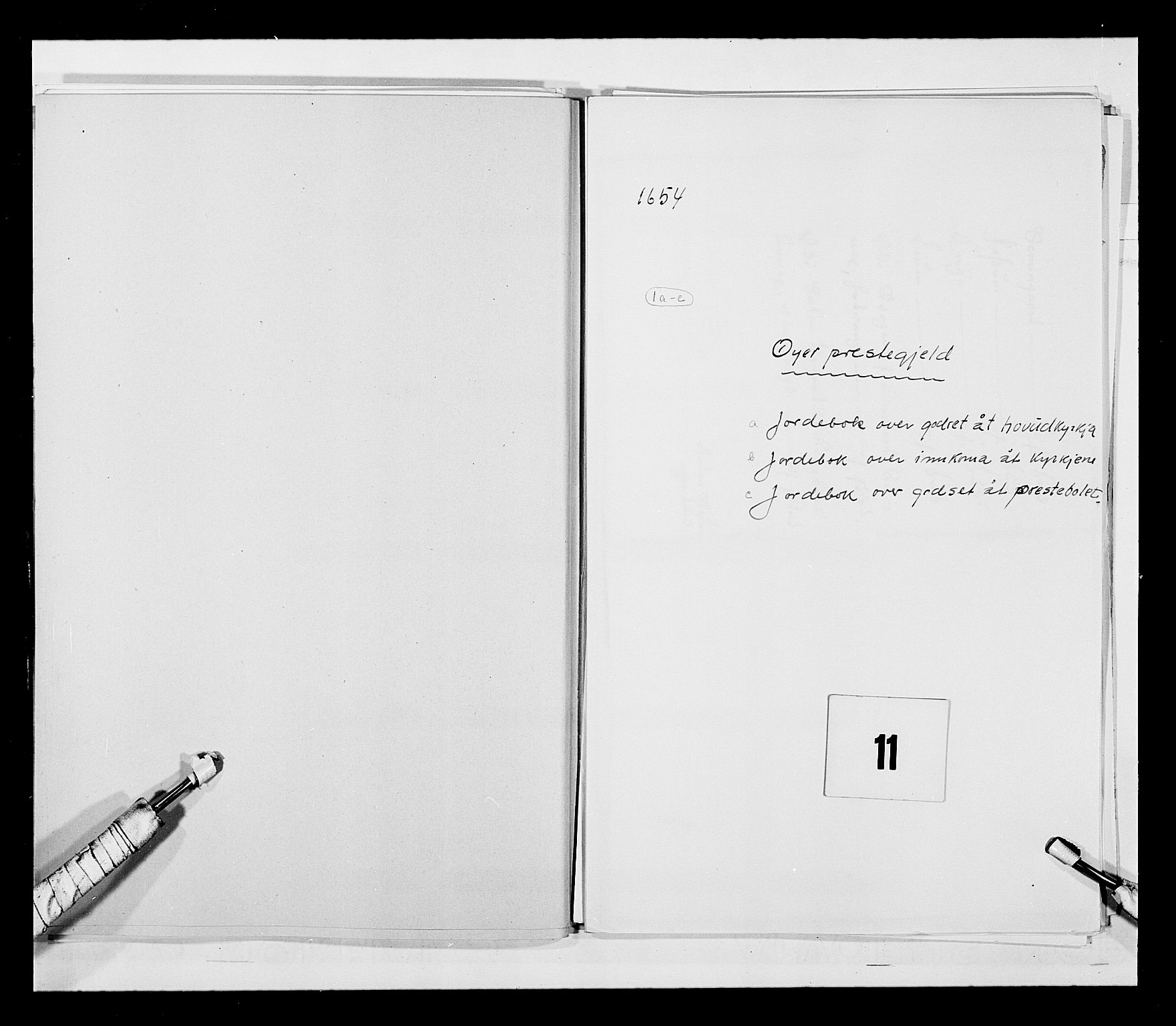 RA, Stattholderembetet 1572-1771, Ek/L0030: Jordebøker 1633-1658:, 1654, s. 41