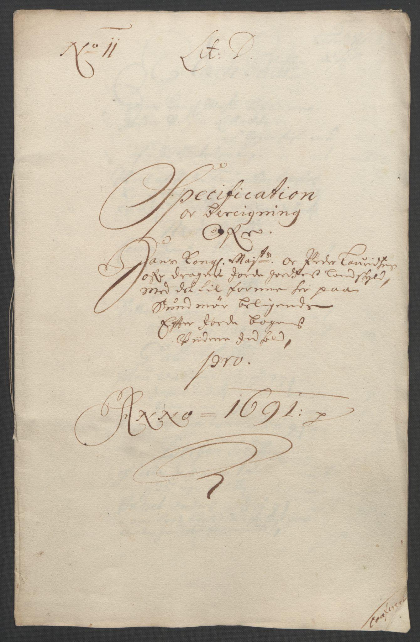 RA, Rentekammeret inntil 1814, Reviderte regnskaper, Fogderegnskap, R54/L3554: Fogderegnskap Sunnmøre, 1691-1693, s. 117