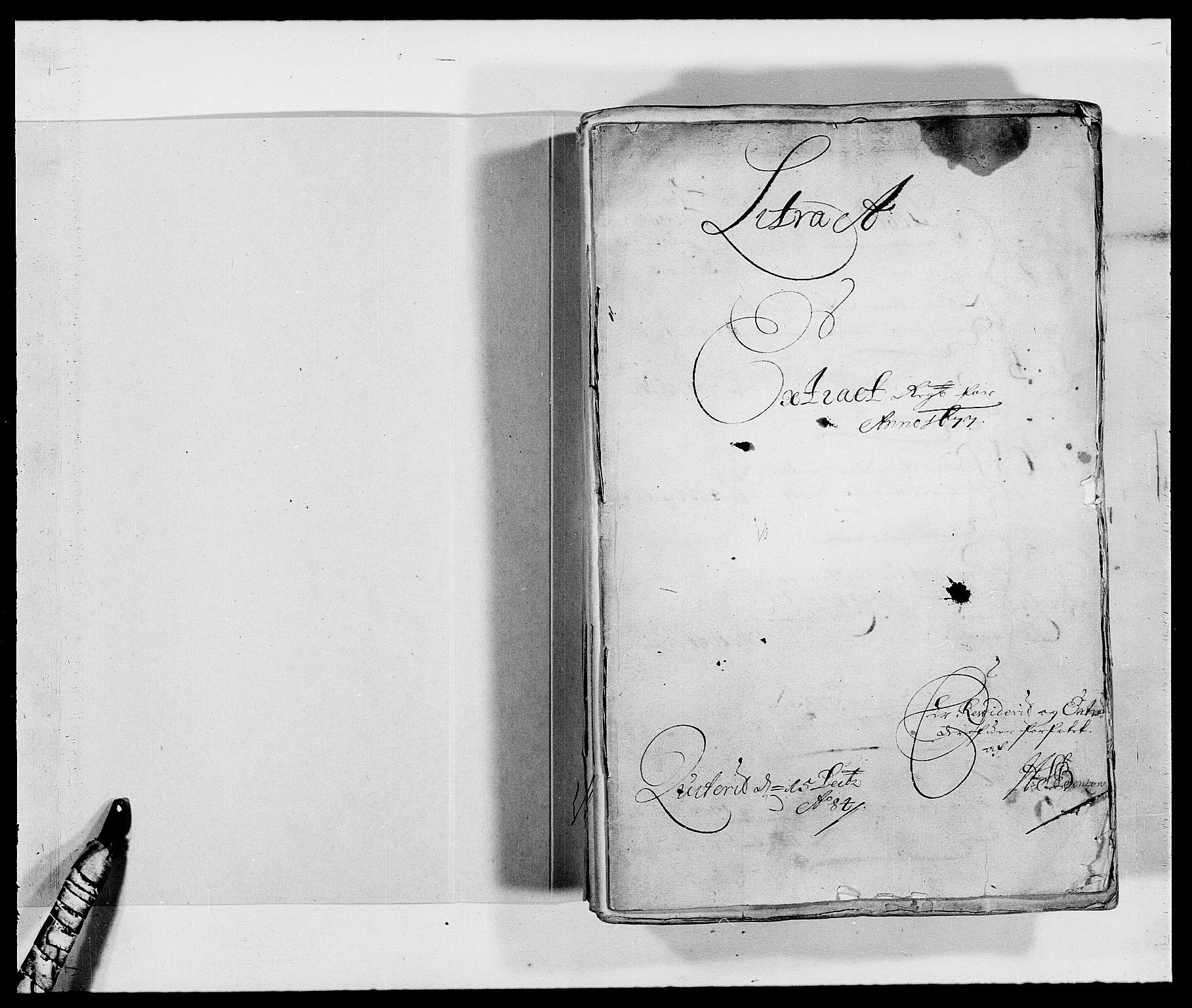 RA, Rentekammeret inntil 1814, Reviderte regnskaper, Fogderegnskap, R47/L2847: Fogderegnskap Ryfylke, 1677, s. 2