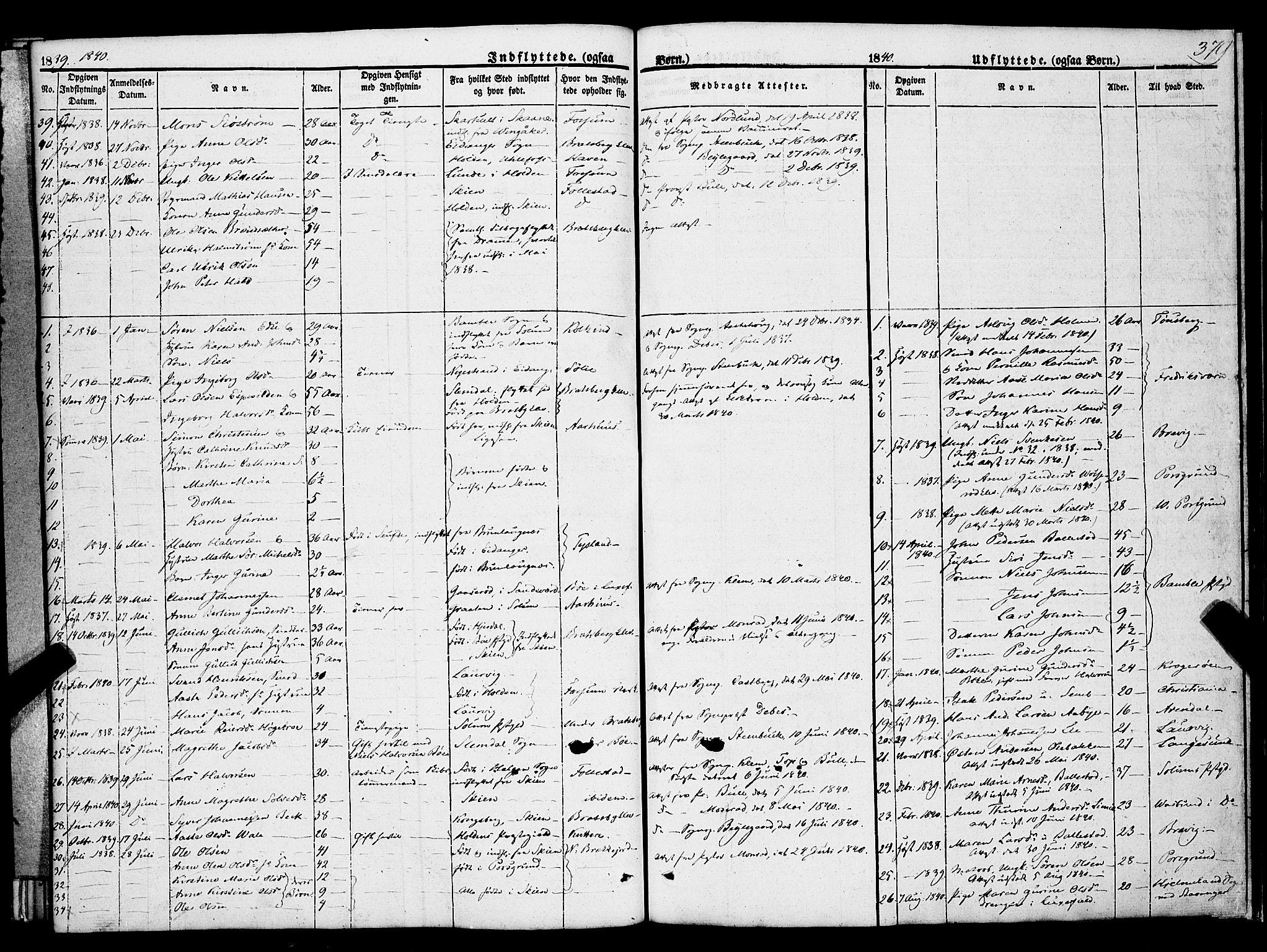 SAKO, Gjerpen kirkebøker, F/Fa/L0007b: Ministerialbok nr. 7B, 1834-1857, s. 379