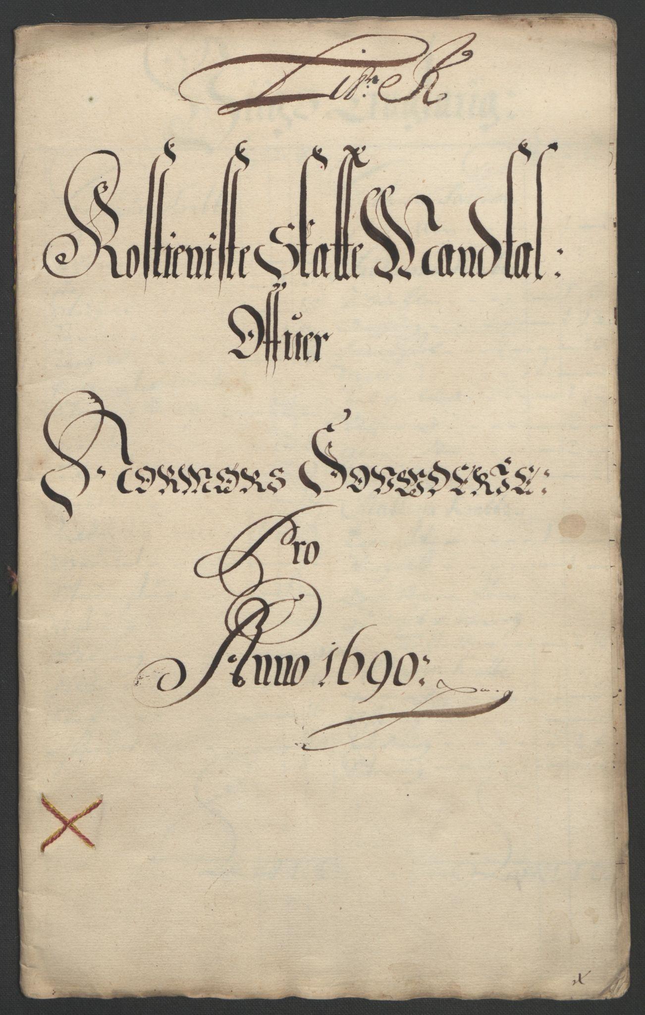 RA, Rentekammeret inntil 1814, Reviderte regnskaper, Fogderegnskap, R56/L3734: Fogderegnskap Nordmøre, 1690-1691, s. 152