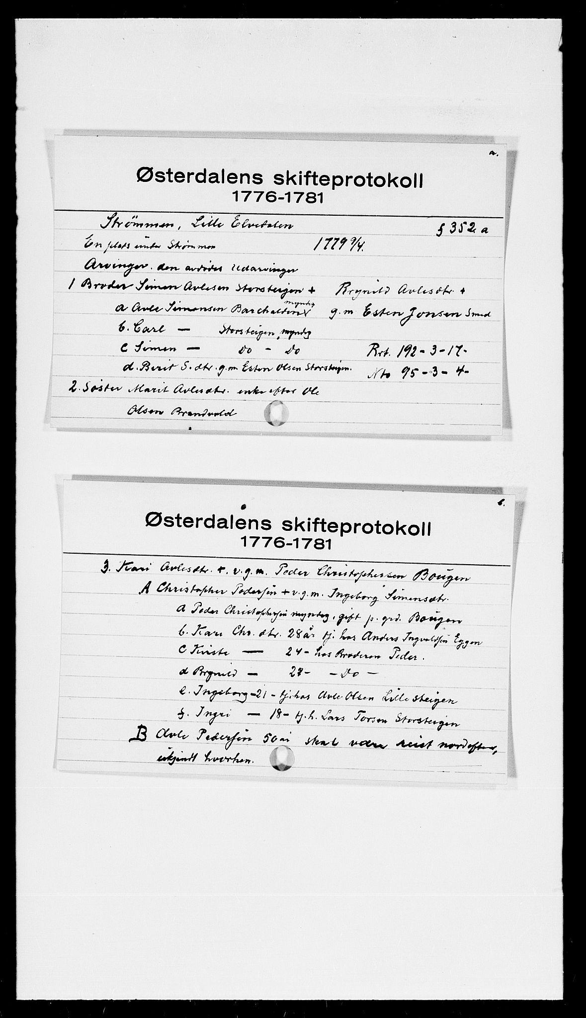 SAH, Østerdalen sorenskriveri, J, 1772-1823, s. 7188