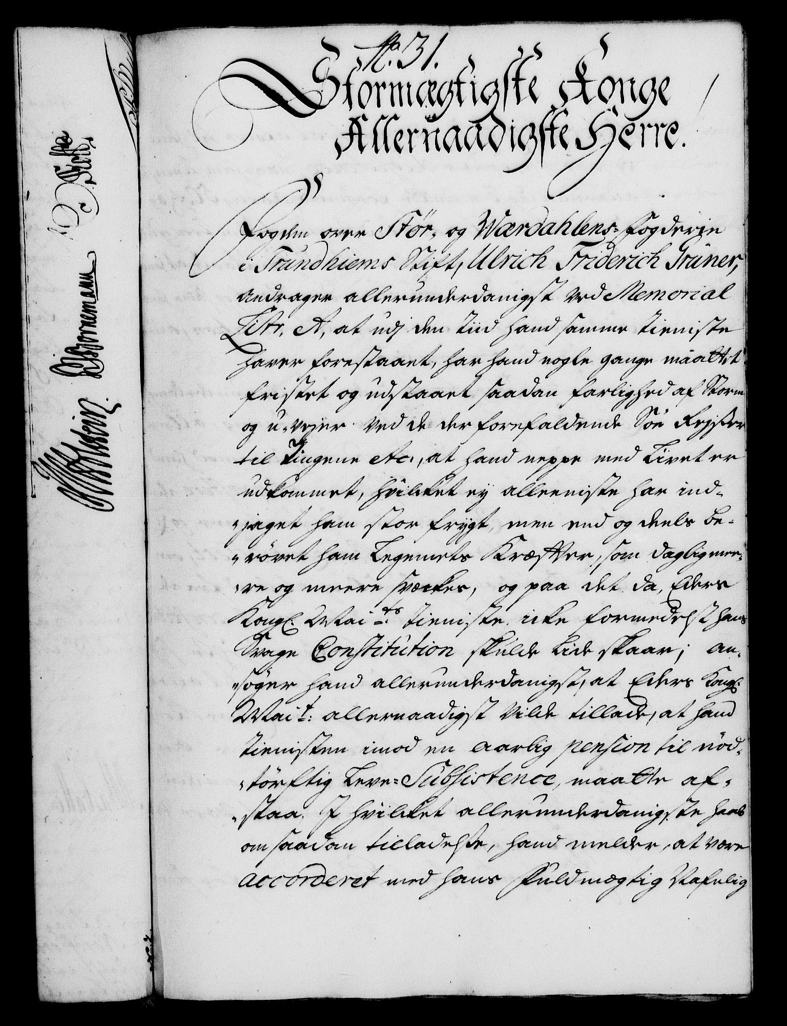 RA, Rentekammeret, Kammerkanselliet, G/Gf/Gfa/L0018: Norsk relasjons- og resolusjonsprotokoll (merket RK 52.18), 1735, s. 212