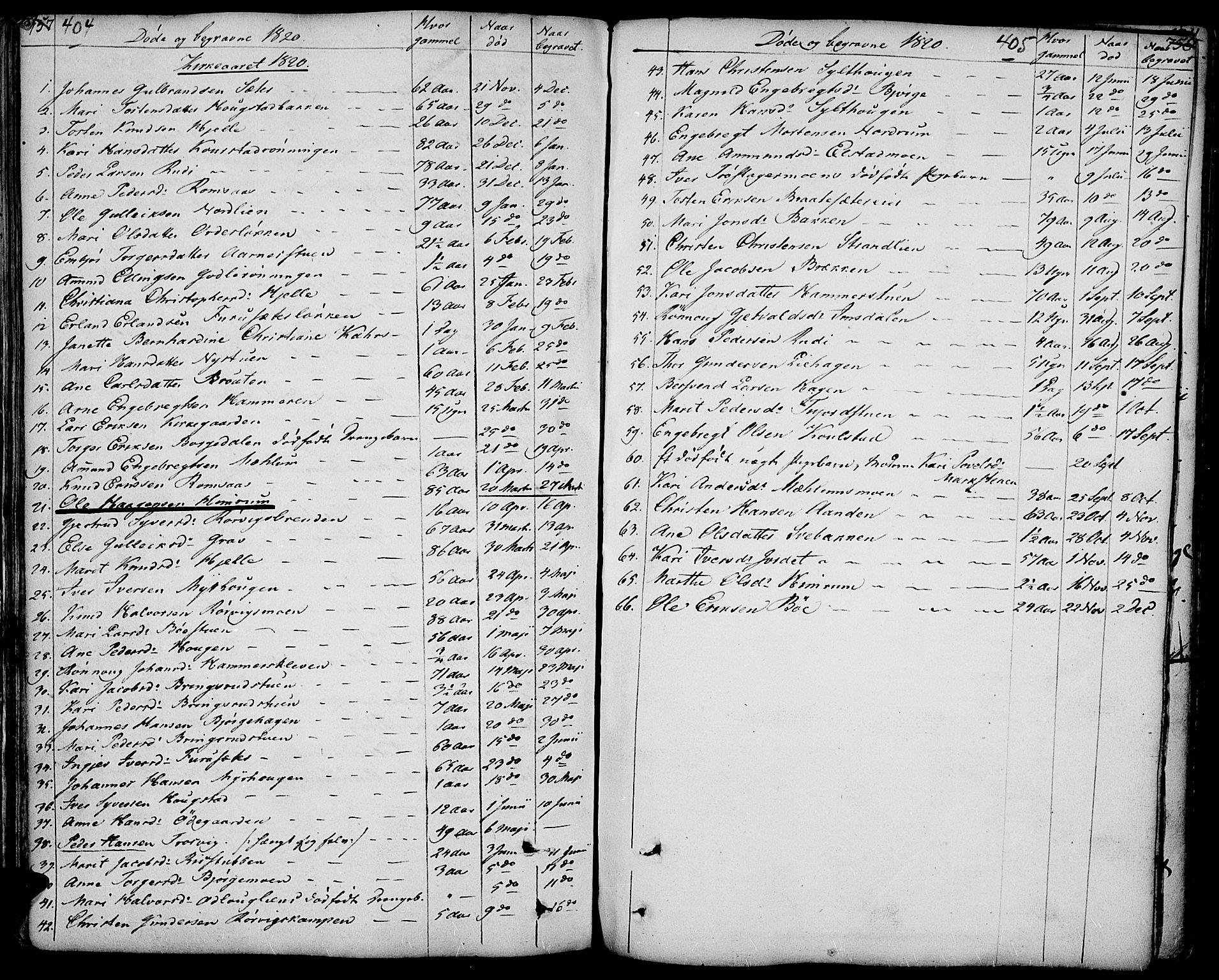 SAH, Ringebu prestekontor, Ministerialbok nr. 3, 1781-1820, s. 404-405