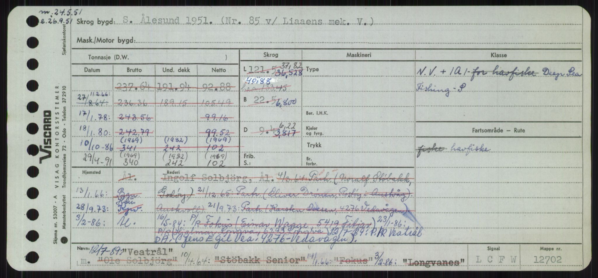 RA, Sjøfartsdirektoratet med forløpere, Skipsmålingen, H/Ha/L0006: Fartøy, Sver-Å, s. 193