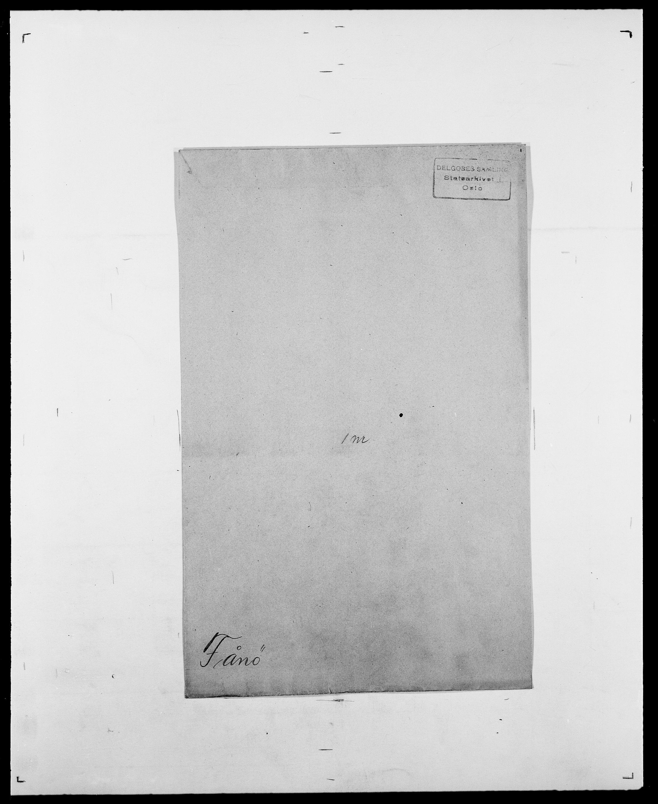 SAO, Delgobe, Charles Antoine - samling, D/Da/L0010: Dürendahl - Fagelund, s. 711
