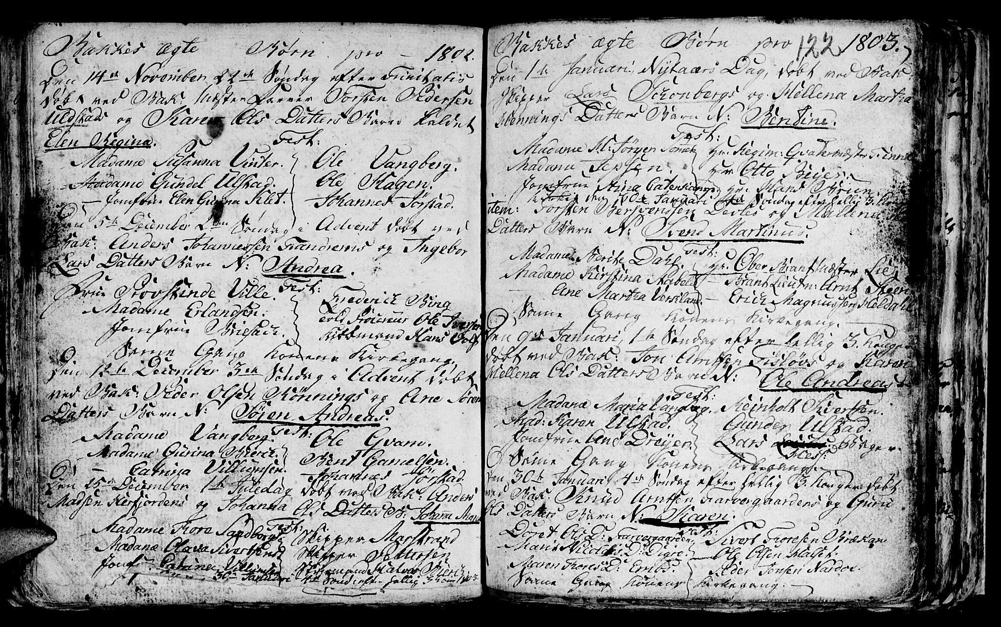 SAT, Ministerialprotokoller, klokkerbøker og fødselsregistre - Sør-Trøndelag, 604/L0218: Klokkerbok nr. 604C01, 1754-1819, s. 122