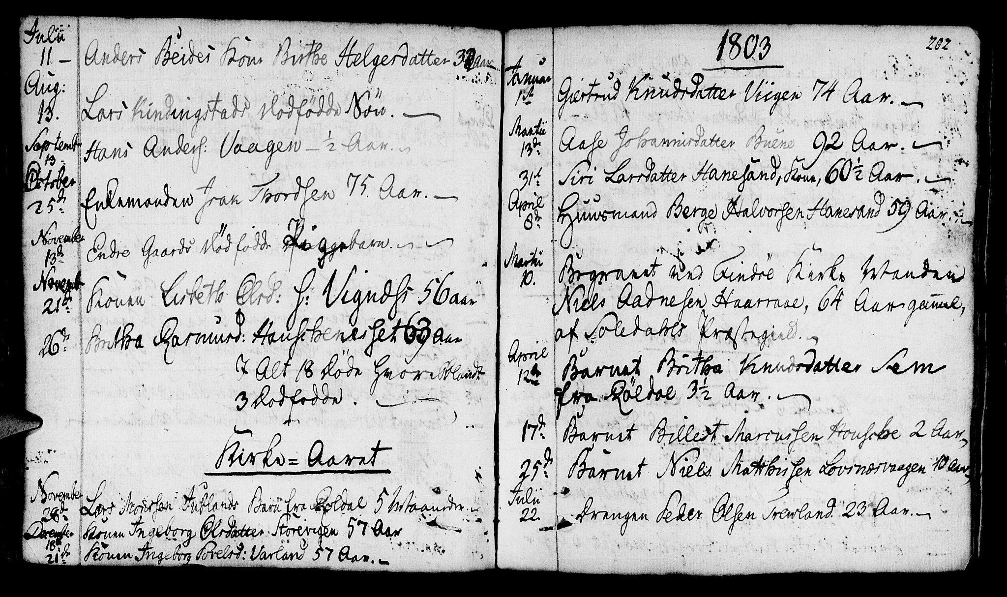 SAST, Finnøy sokneprestkontor, H/Ha/Haa/L0005: Ministerialbok nr. A 5, 1773-1816, s. 202