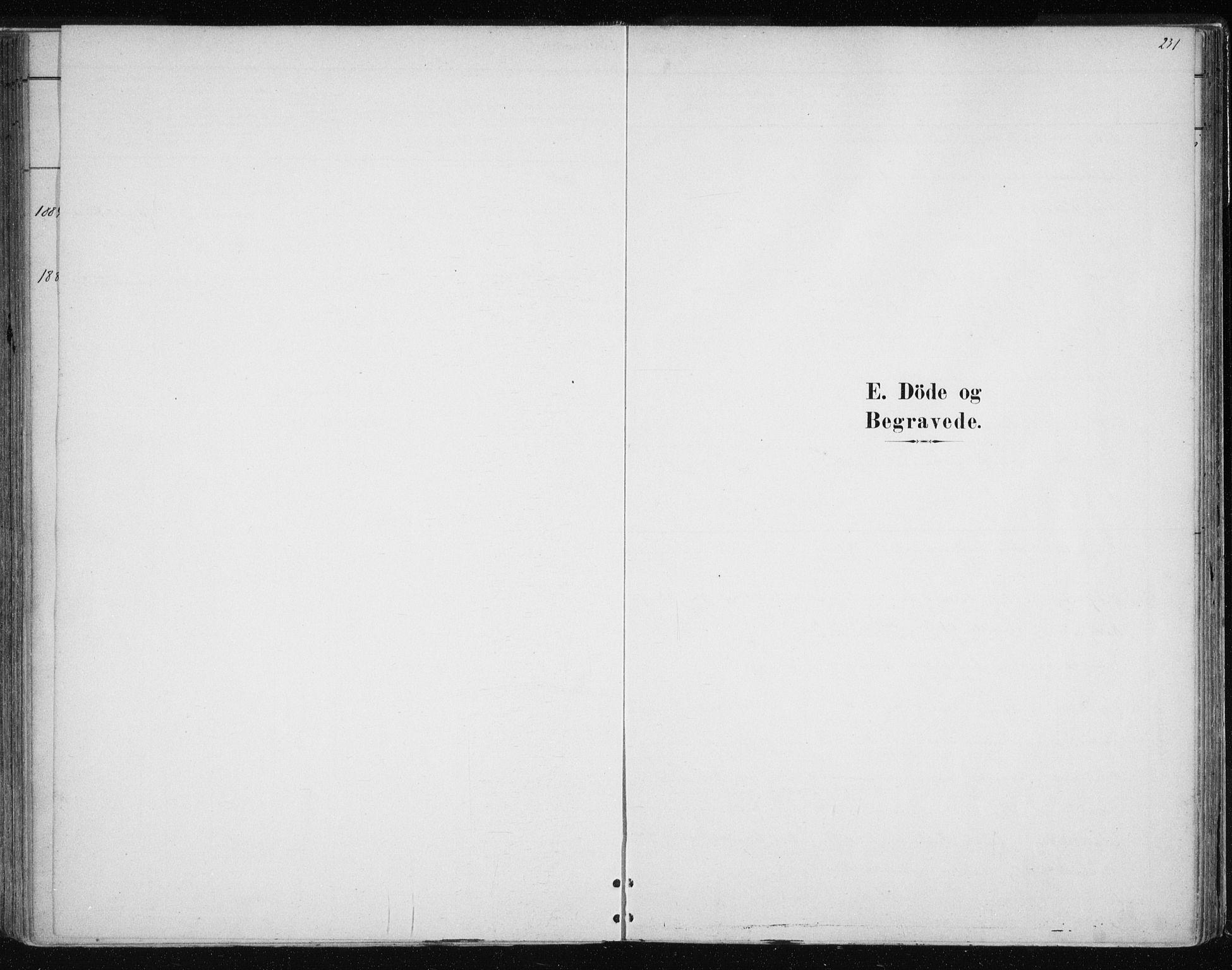 SATØ, Tromsøysund sokneprestkontor, G/Ga/L0004kirke: Ministerialbok nr. 4, 1880-1888, s. 231