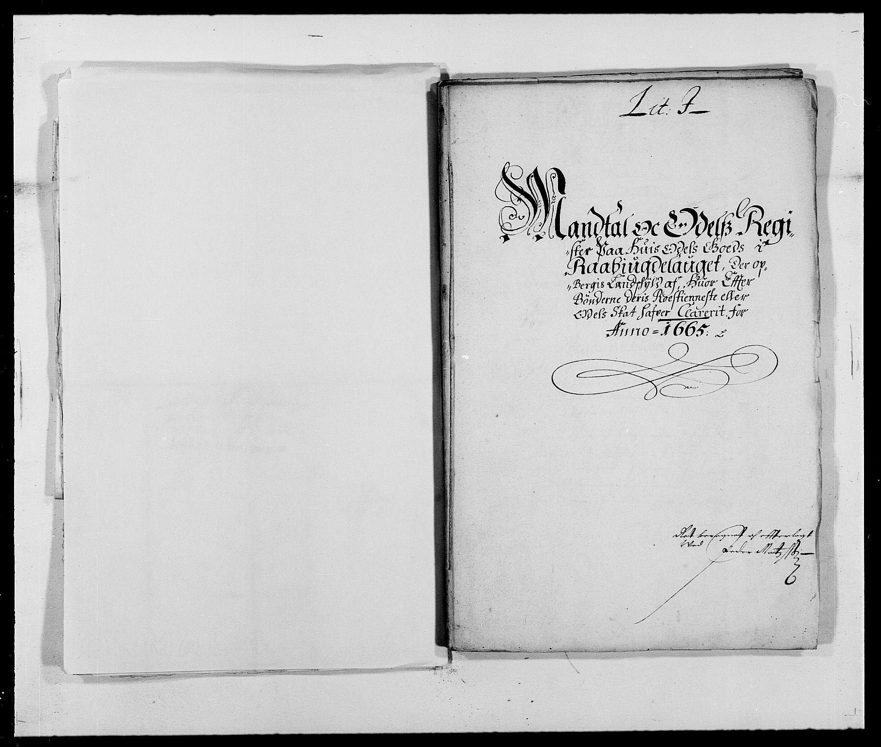 RA, Rentekammeret inntil 1814, Reviderte regnskaper, Fogderegnskap, R40/L2431: Fogderegnskap Råbyggelag, 1664-1668, s. 237