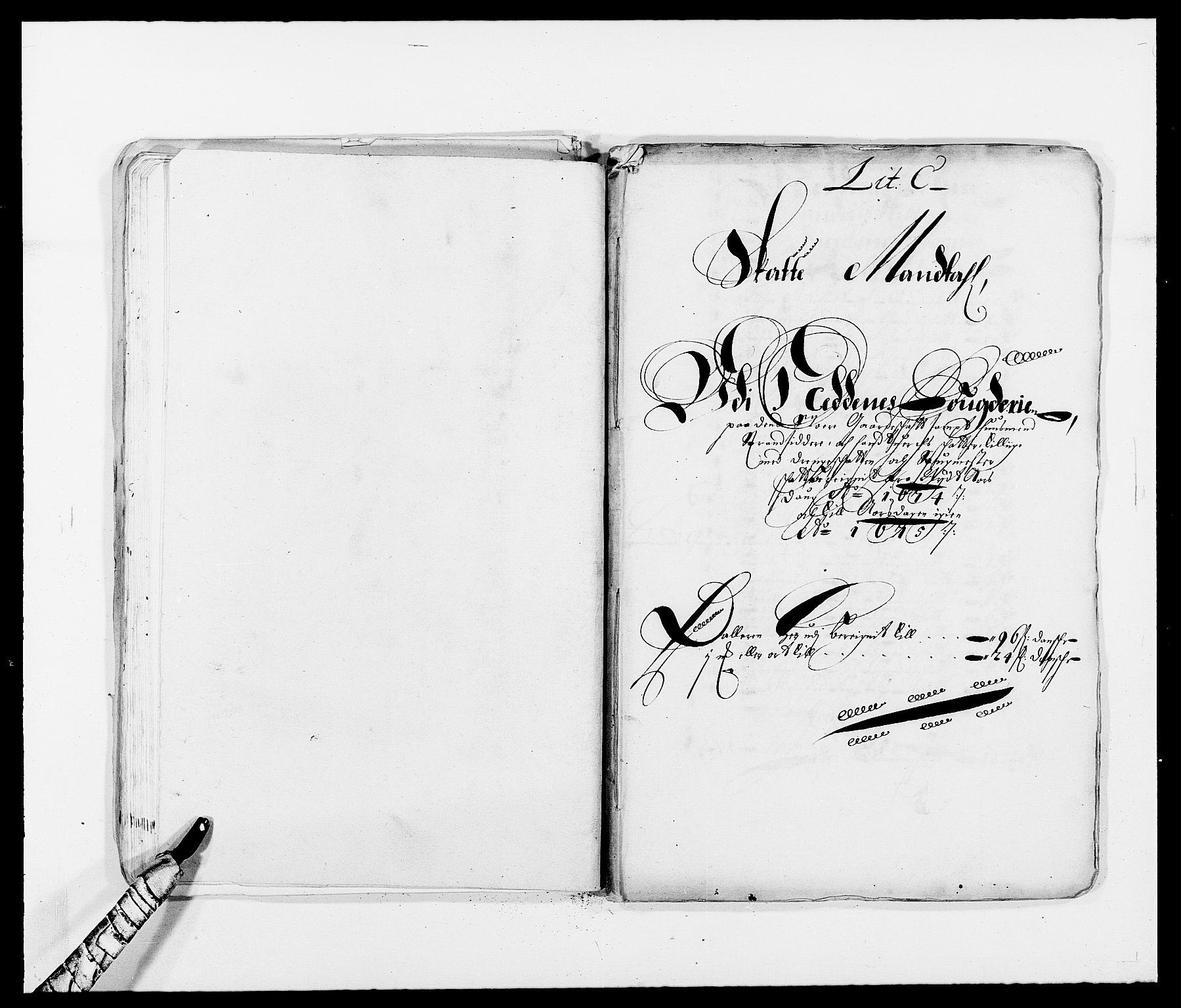 RA, Rentekammeret inntil 1814, Reviderte regnskaper, Fogderegnskap, R39/L2300: Fogderegnskap Nedenes, 1672-1674, s. 281
