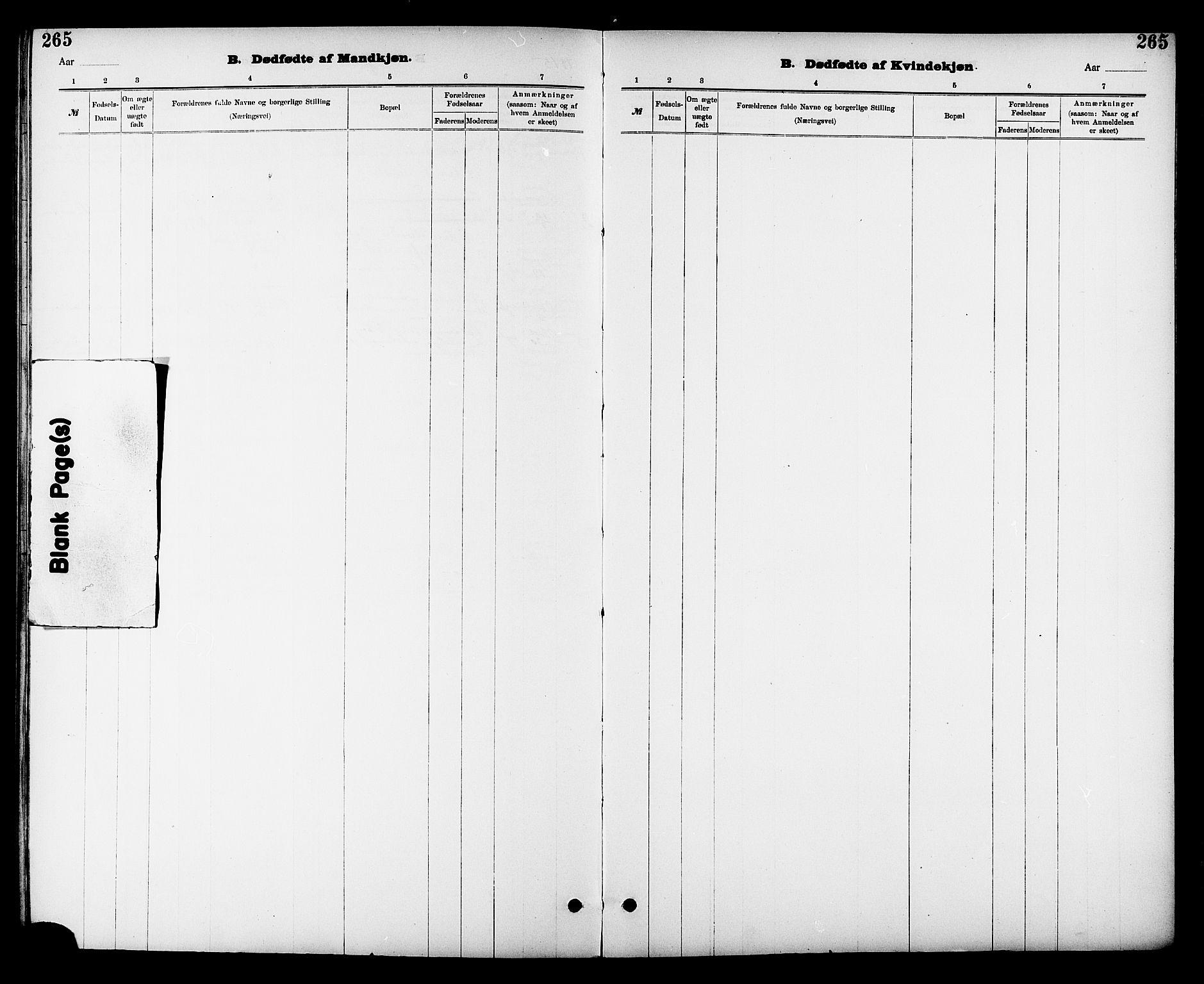 SAT, Ministerialprotokoller, klokkerbøker og fødselsregistre - Sør-Trøndelag, 605/L0254: Klokkerbok nr. 605C01, 1908-1916, s. 265