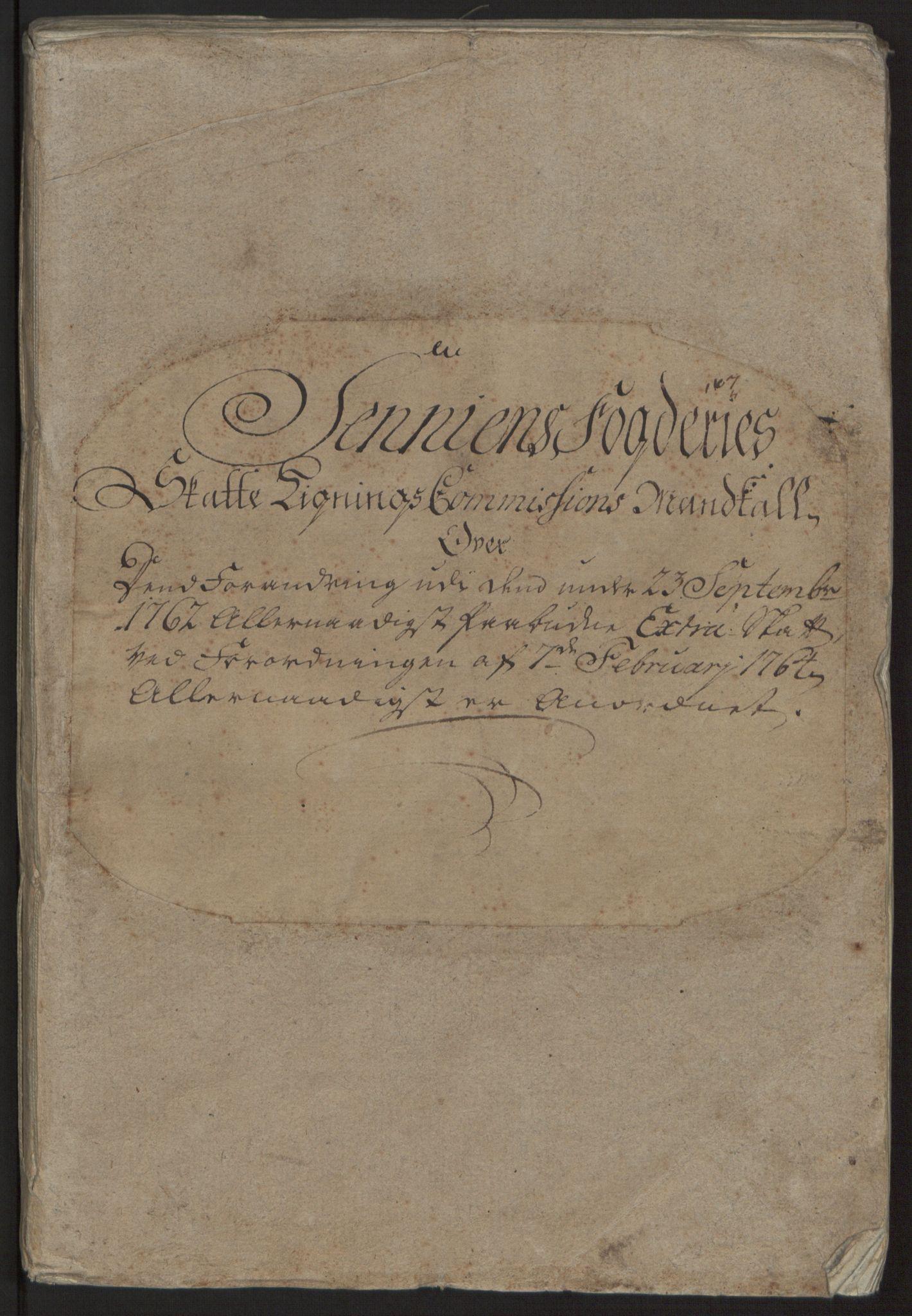 RA, Rentekammeret inntil 1814, Reviderte regnskaper, Fogderegnskap, R68/L4845: Ekstraskatten Senja og Troms, 1762-1765, s. 236