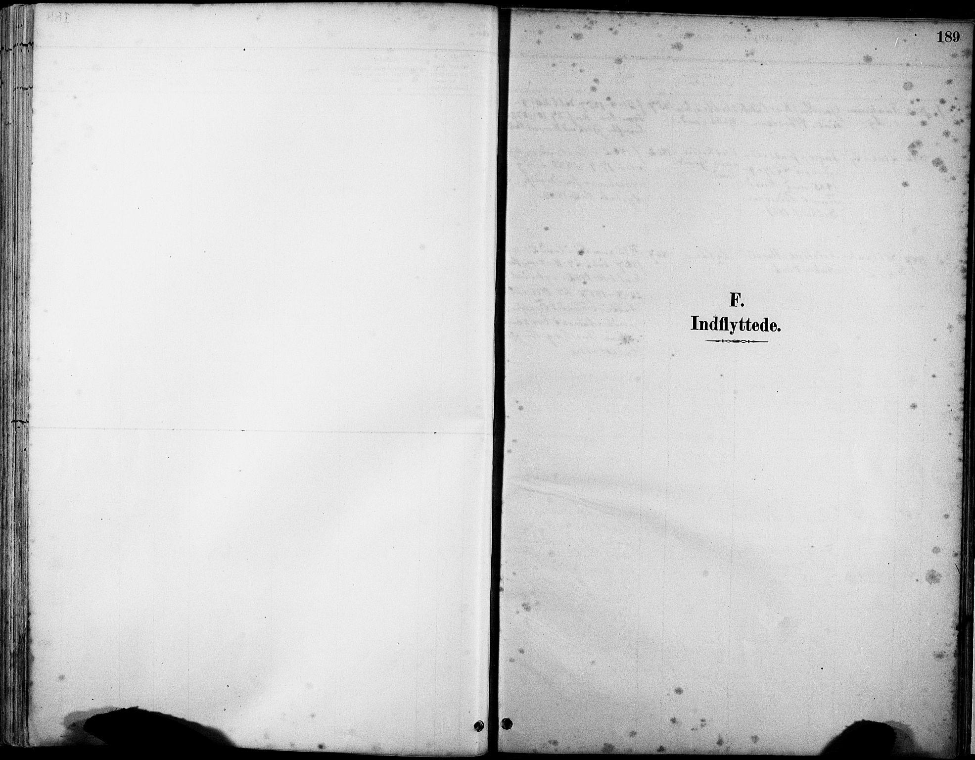 SAST, Klepp sokneprestkontor, 30BA/L0007: Ministerialbok nr. A 8, 1886-1912, s. 189
