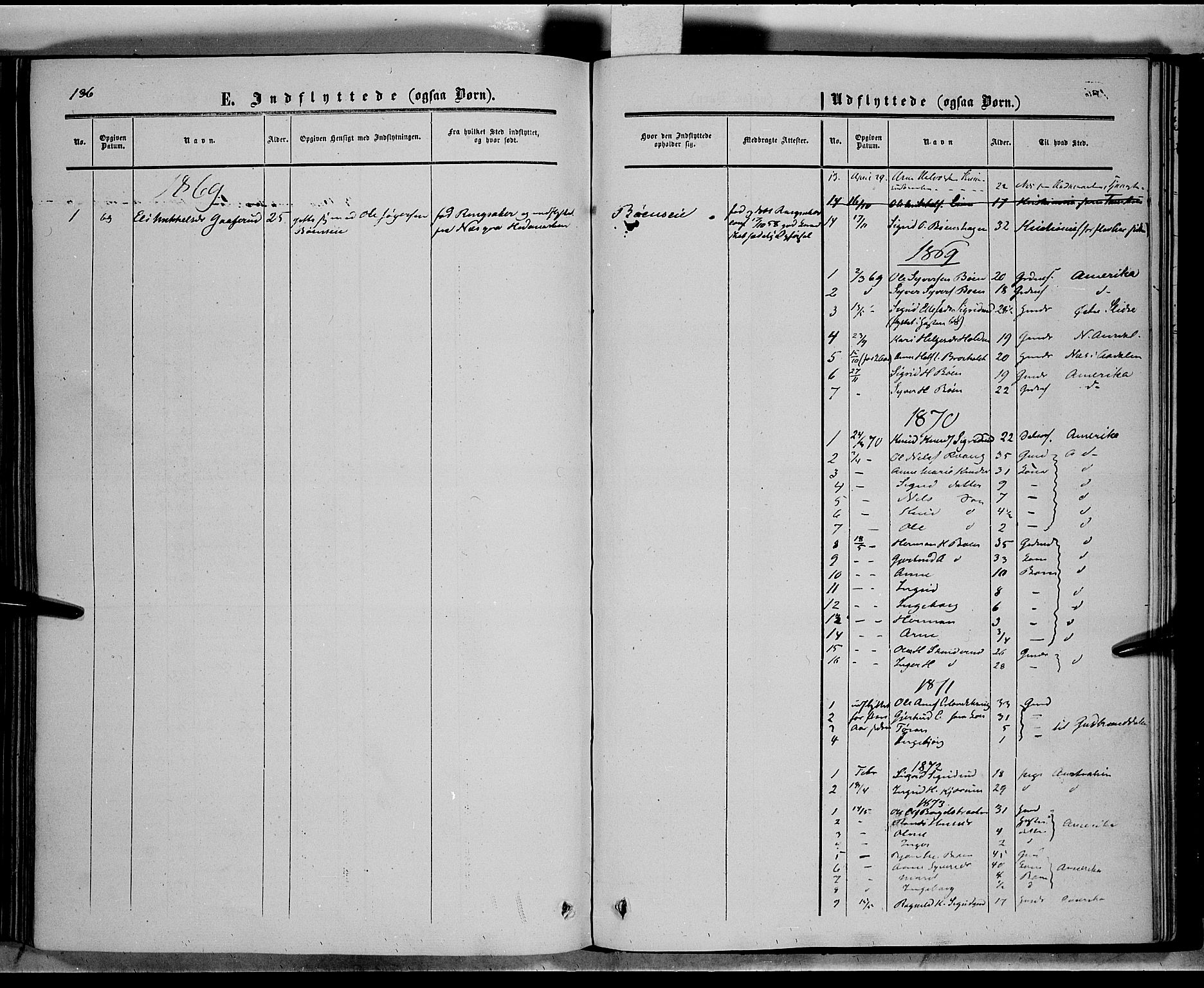 SAH, Sør-Aurdal prestekontor, Ministerialbok nr. 6, 1849-1876, s. 136