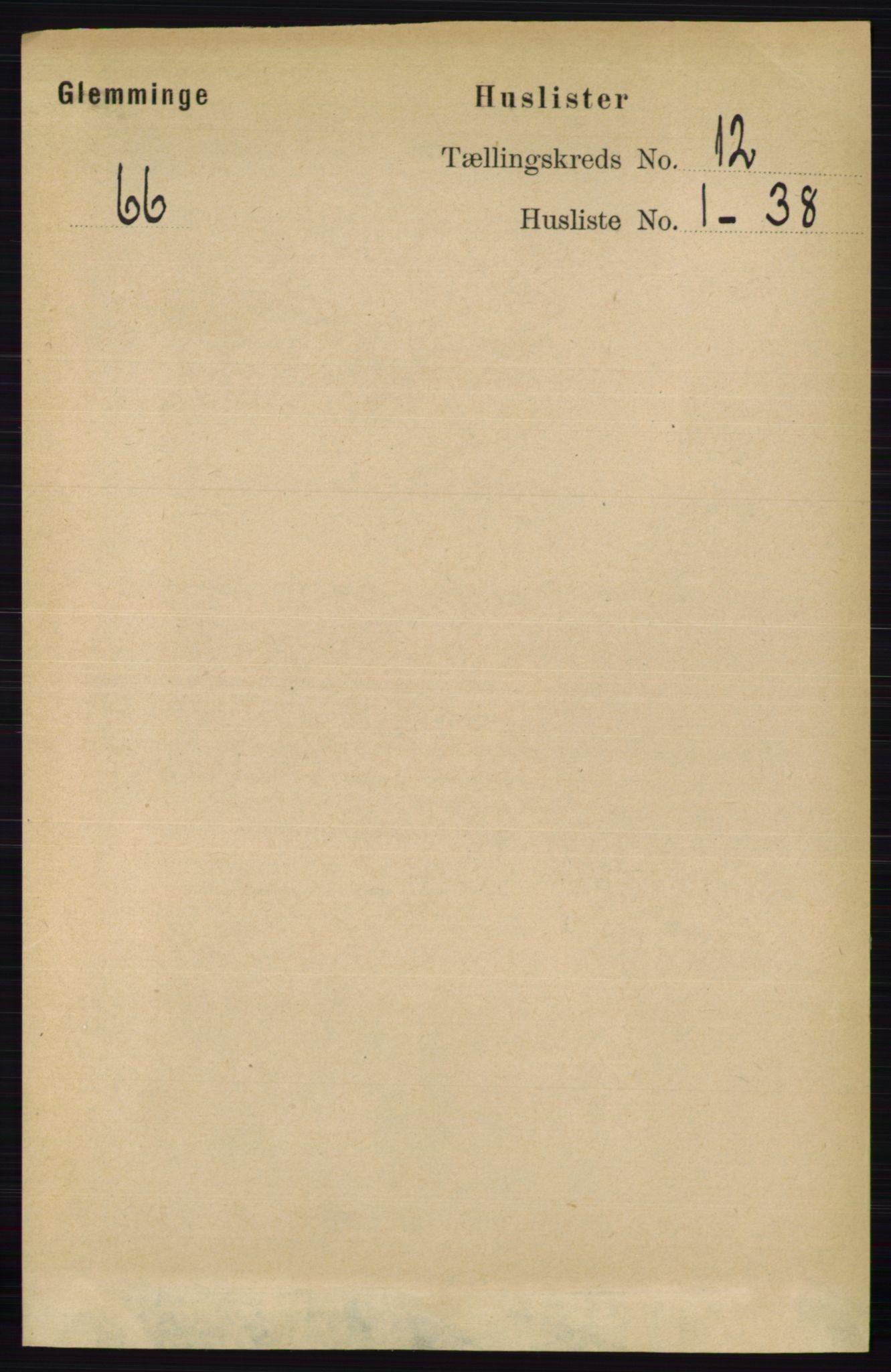 RA, Folketelling 1891 for 0132 Glemmen herred, 1891, s. 10792