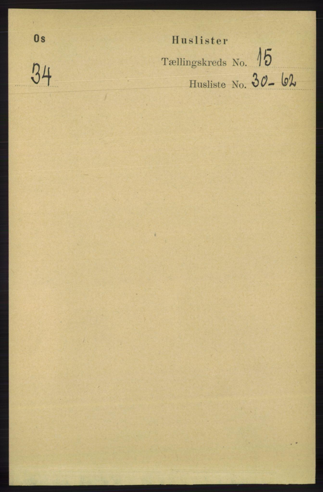 RA, Folketelling 1891 for 1243 Os herred, 1891, s. 3254