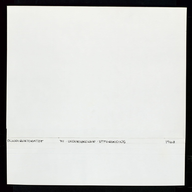 SAST, Industridepartementet, Oljekontoret, Da/L0003: Arkivnøkkel 711 Undersøkelser og utforskning, 1963-1971, s. 2
