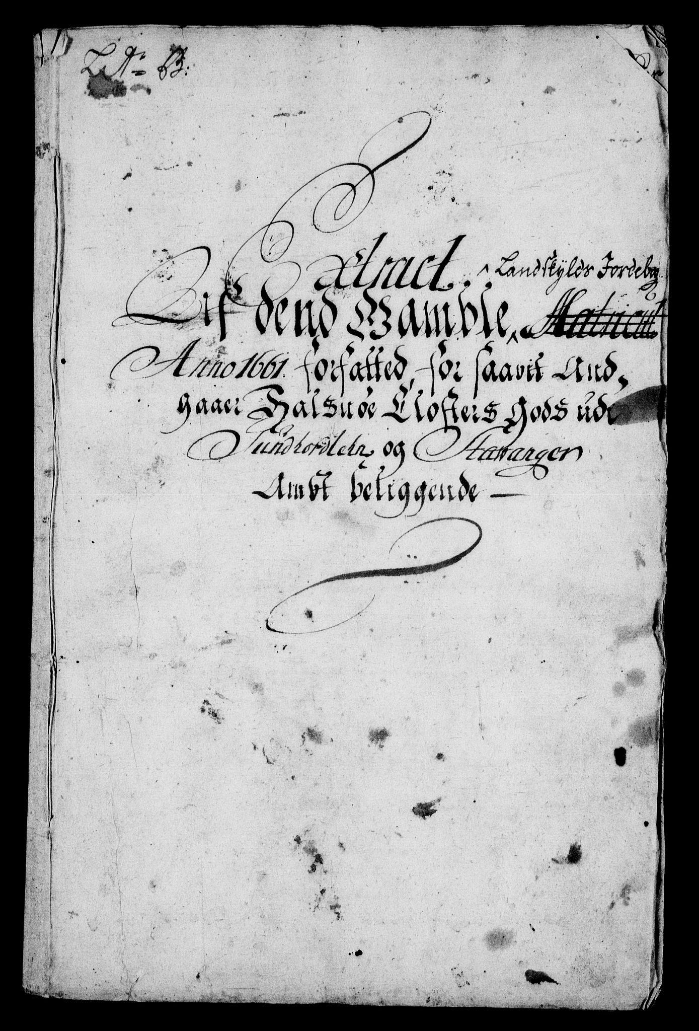 RA, Rentekammeret inntil 1814, Realistisk ordnet avdeling, On/L0005: [Jj 6]: Forskjellige dokumenter om Halsnøy klosters gods, 1697-1770, s. 33