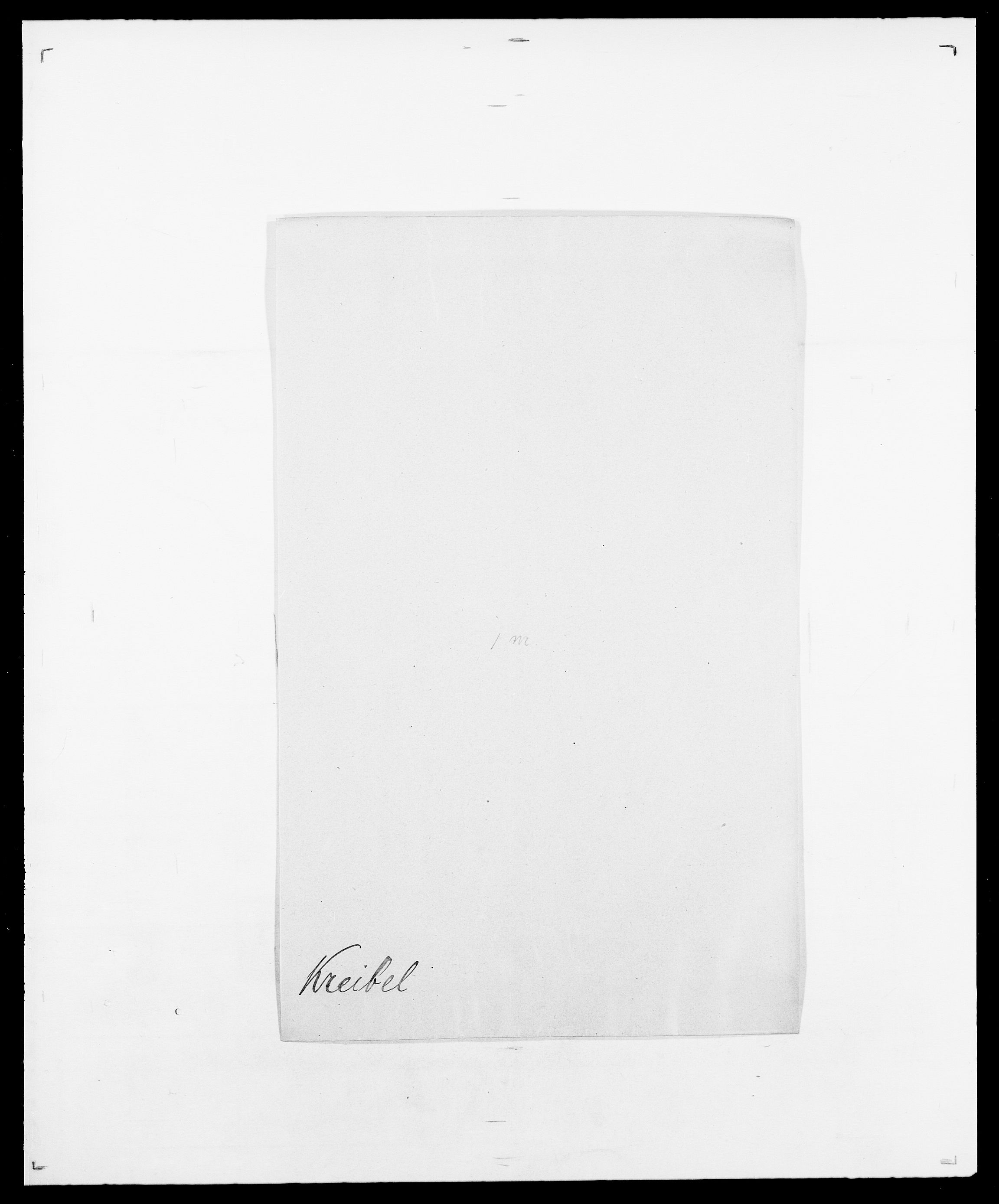 SAO, Delgobe, Charles Antoine - samling, D/Da/L0021: Klagenberg - Kristoft, s. 764