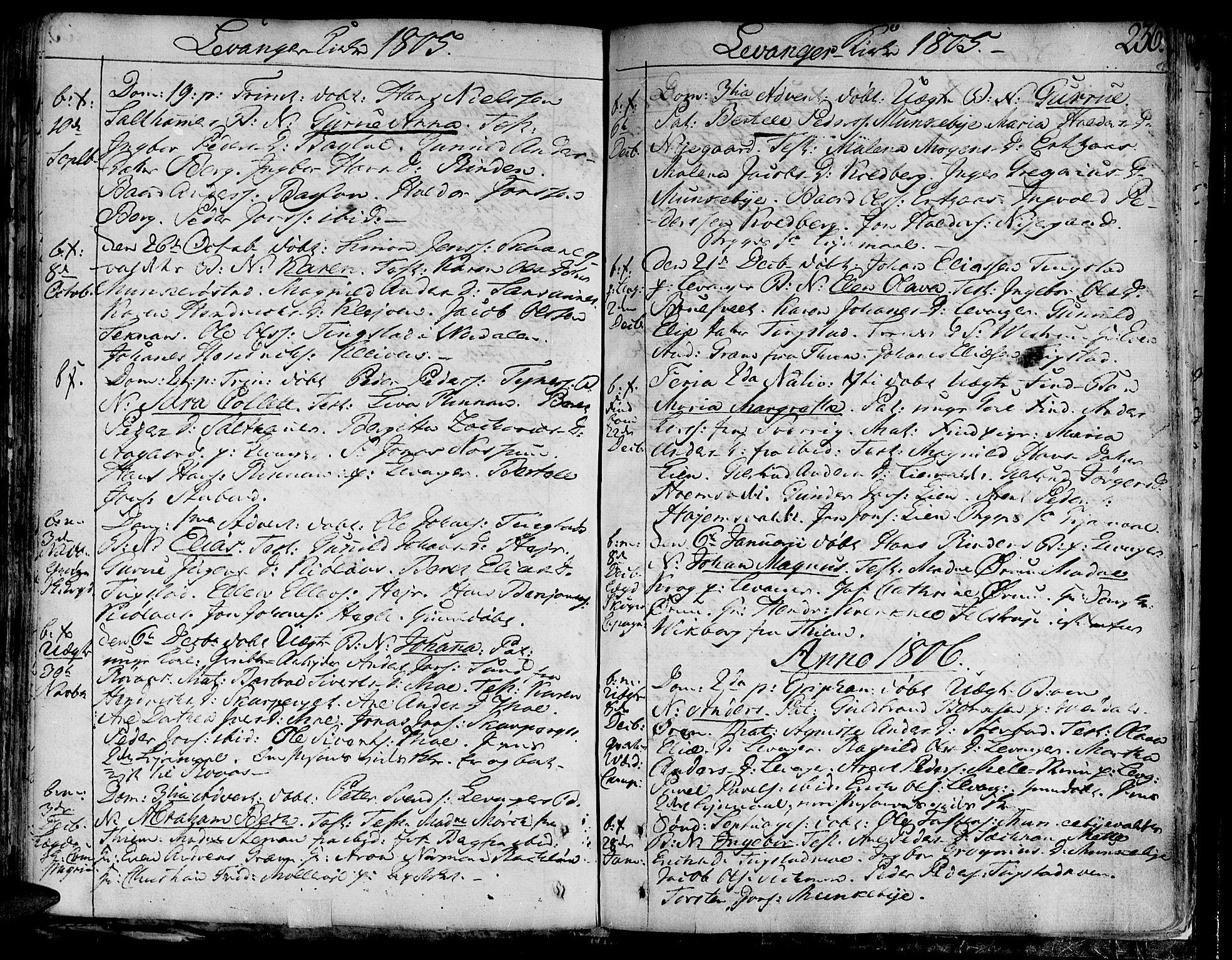 SAT, Ministerialprotokoller, klokkerbøker og fødselsregistre - Nord-Trøndelag, 717/L0144: Ministerialbok nr. 717A02 /3, 1805-1809, s. 236