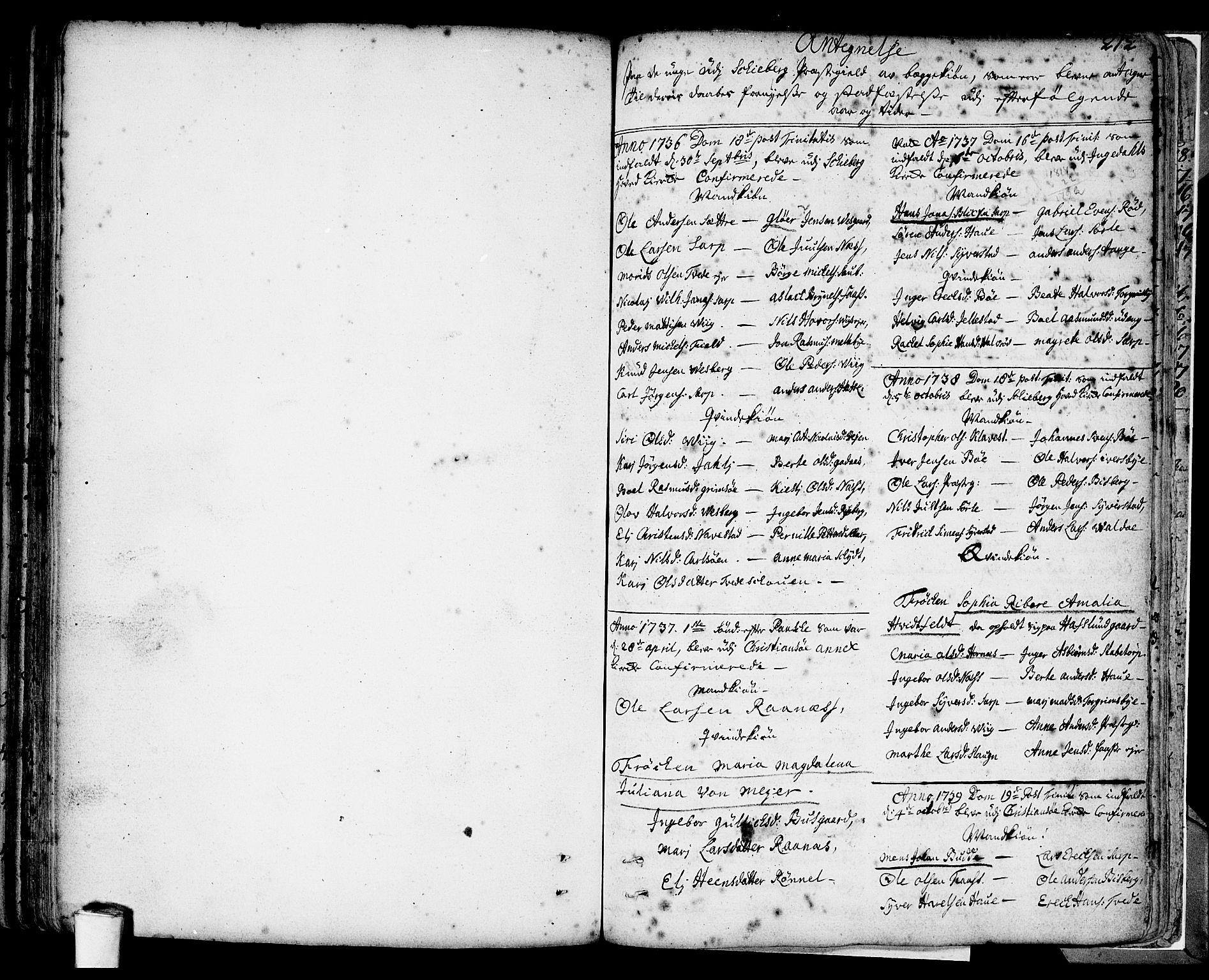 SAO, Skjeberg prestekontor Kirkebøker, F/Fa/L0002: Ministerialbok nr. I 2, 1726-1791, s. 212