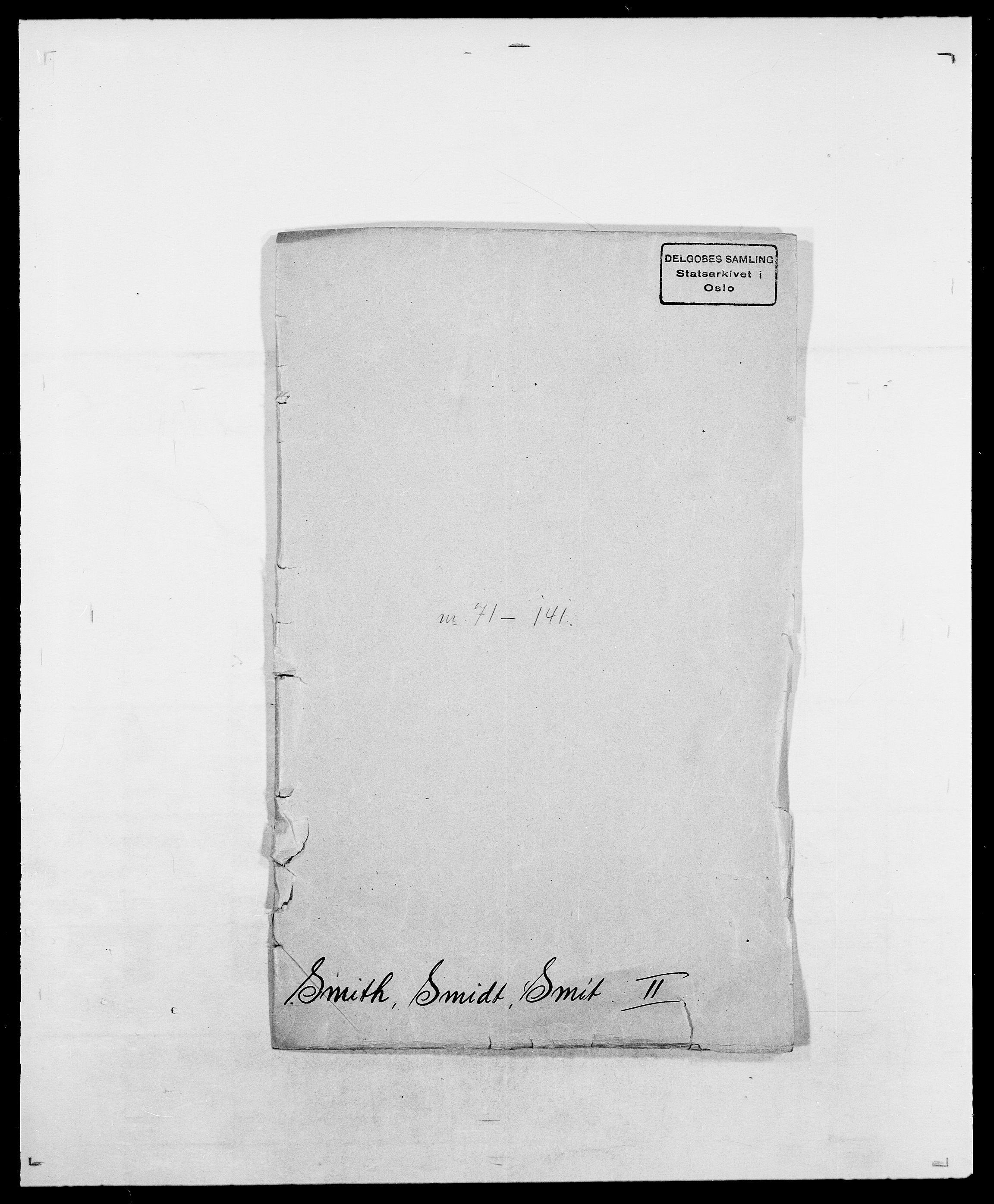 SAO, Delgobe, Charles Antoine - samling, D/Da/L0036: Skaanør - Staverskov, s. 221