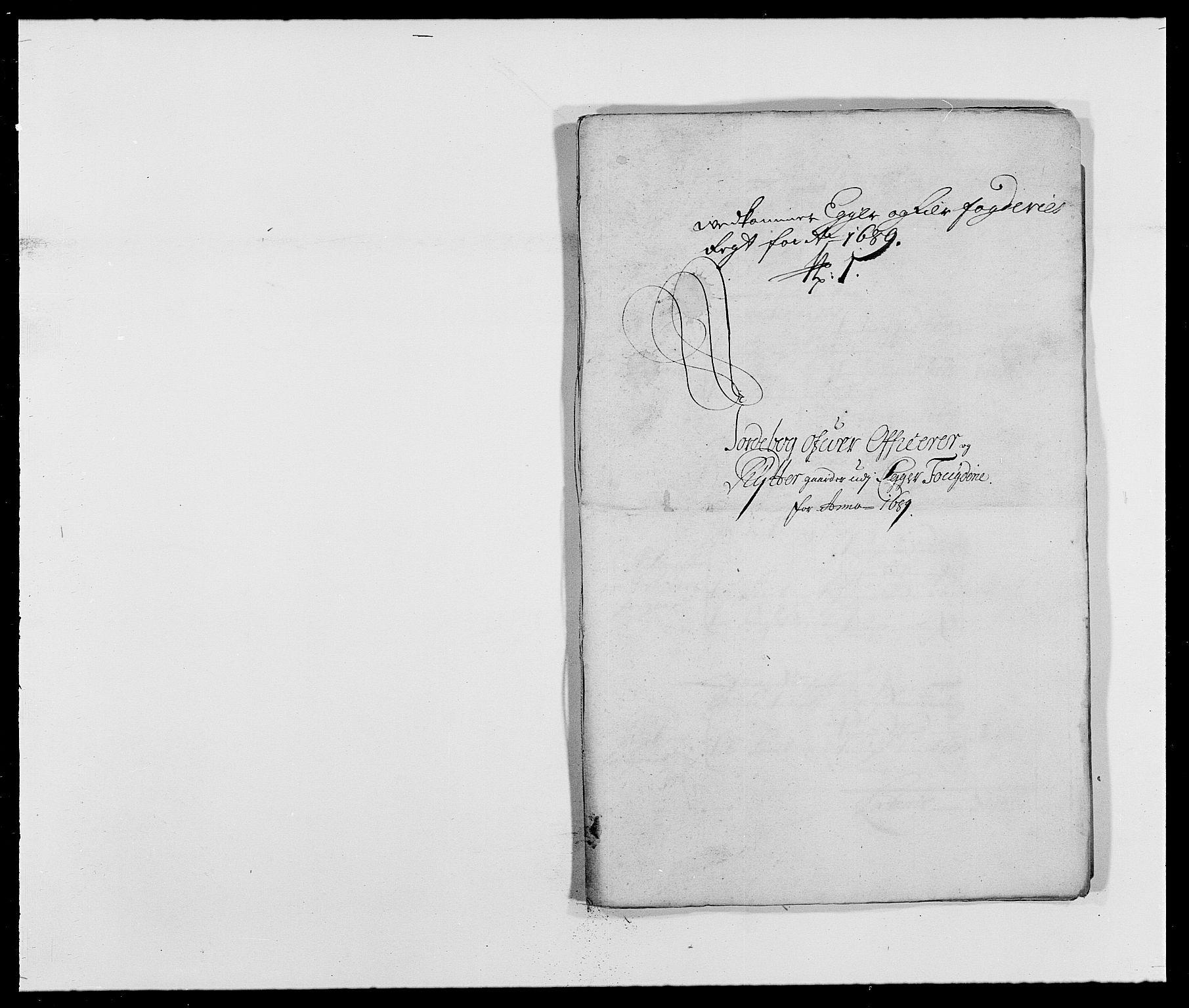 RA, Rentekammeret inntil 1814, Reviderte regnskaper, Fogderegnskap, R28/L1688: Fogderegnskap Eiker og Lier, 1687-1689, s. 500