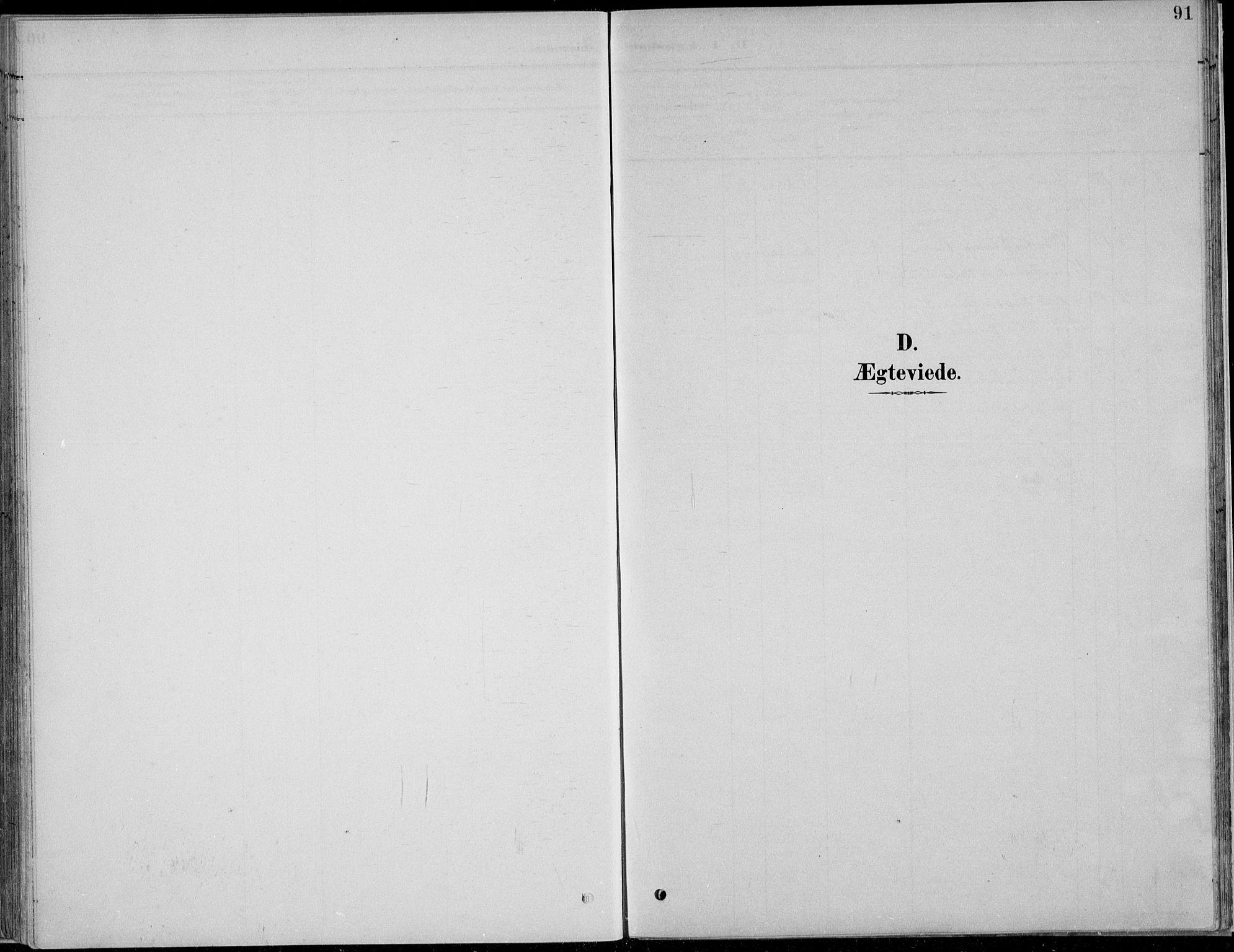 SAH, Nordre Land prestekontor, Klokkerbok nr. 13, 1891-1904, s. 91
