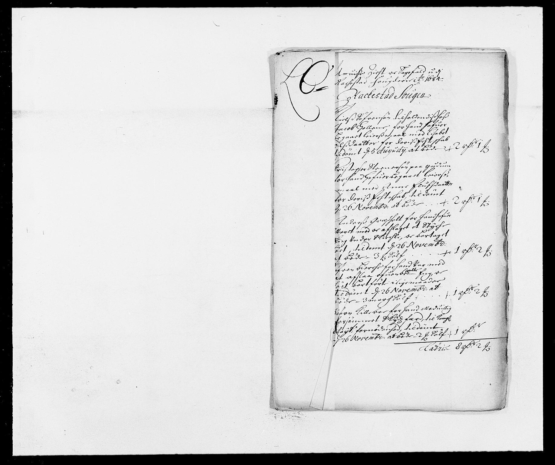 RA, Rentekammeret inntil 1814, Reviderte regnskaper, Fogderegnskap, R05/L0274: Fogderegnskap Rakkestad, 1683-1684, s. 330