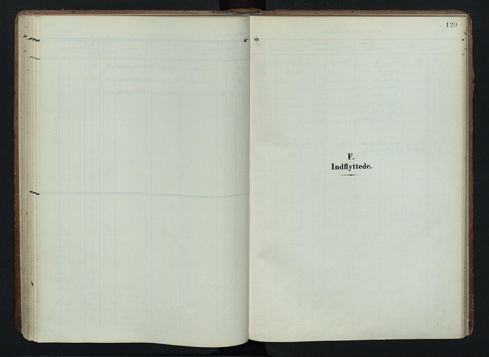 SAH, Søndre Land prestekontor, K/L0005: Ministerialbok nr. 5, 1905-1914, s. 120