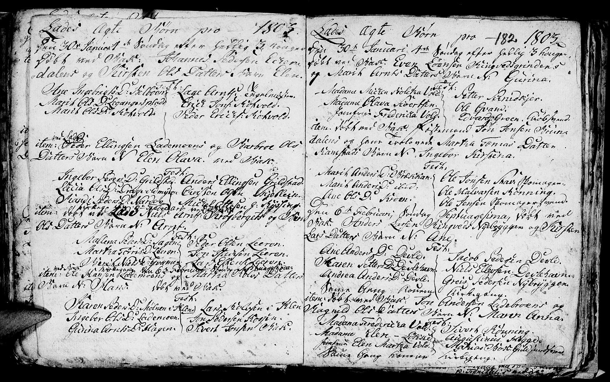 SAT, Ministerialprotokoller, klokkerbøker og fødselsregistre - Sør-Trøndelag, 606/L0305: Klokkerbok nr. 606C01, 1757-1819, s. 182