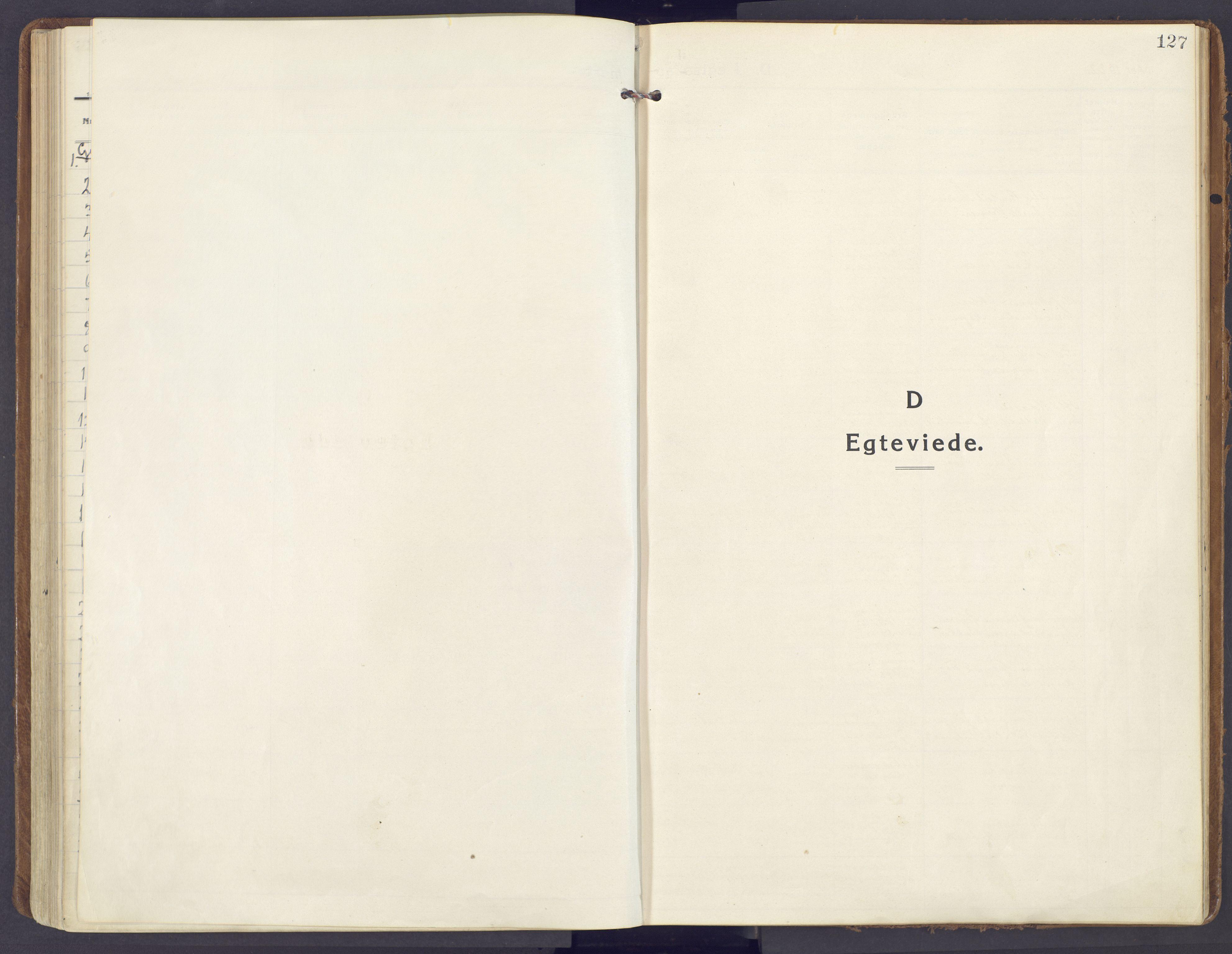 SAH, Lunner prestekontor, H/Ha/Haa/L0002: Ministerialbok nr. 2, 1922-1931, s. 127