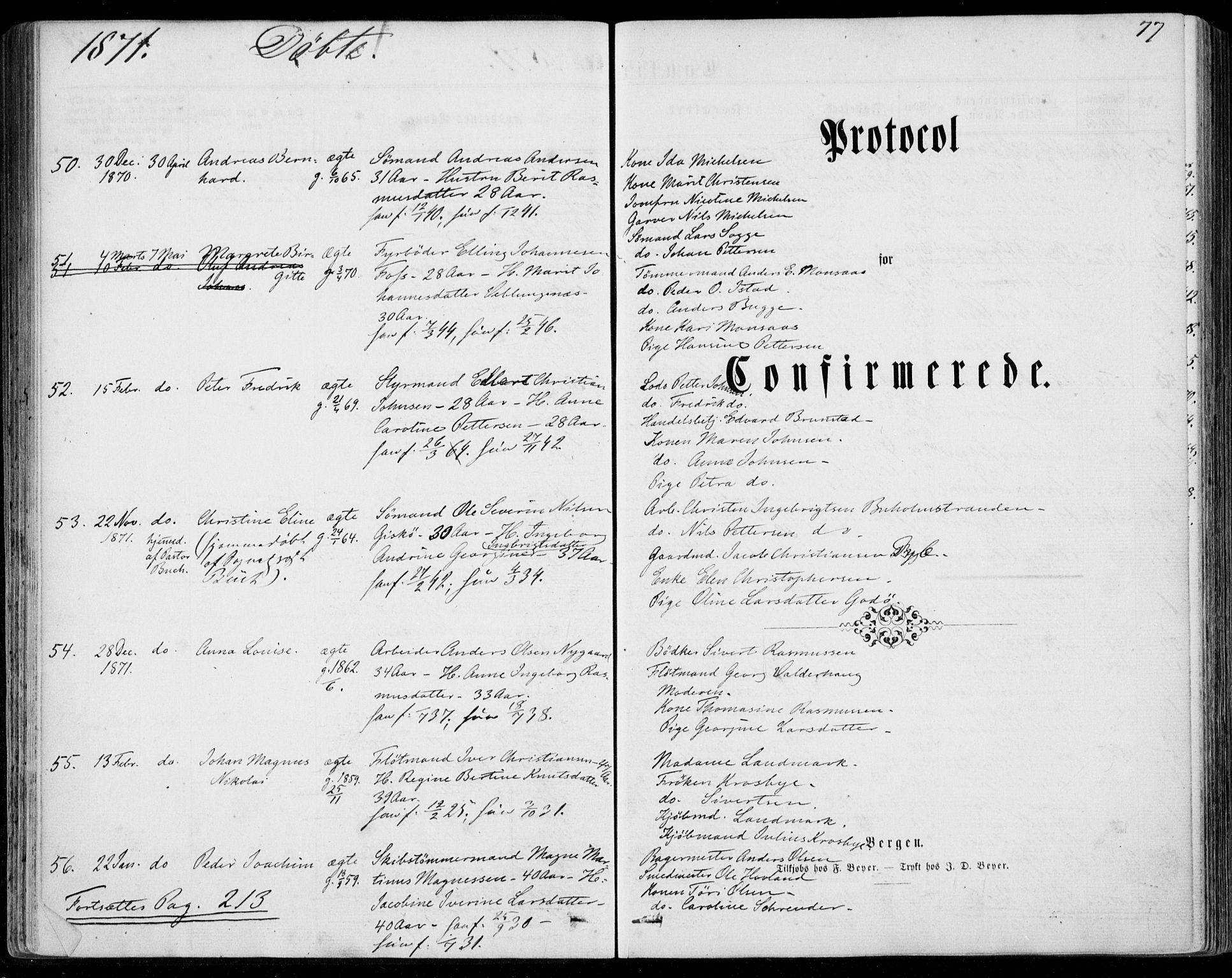 SAT, Ministerialprotokoller, klokkerbøker og fødselsregistre - Møre og Romsdal, 529/L0452: Ministerialbok nr. 529A02, 1864-1871, s. 77
