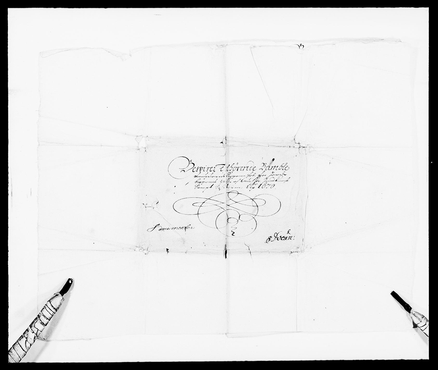 RA, Rentekammeret inntil 1814, Reviderte regnskaper, Fogderegnskap, R34/L2041: Fogderegnskap Bamble, 1670-1672, s. 121
