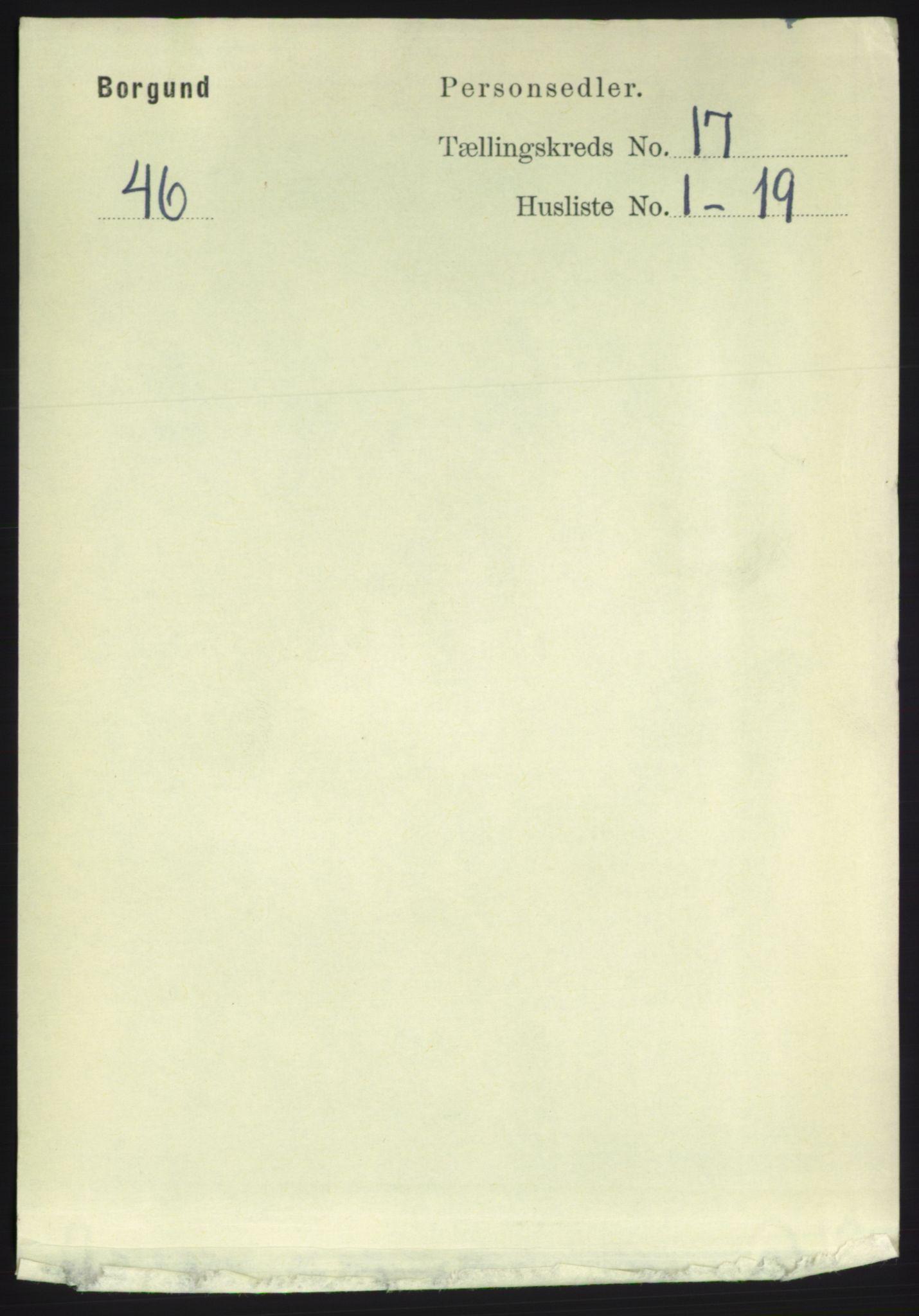 RA, Folketelling 1891 for 1531 Borgund herred, 1891, s. 4973