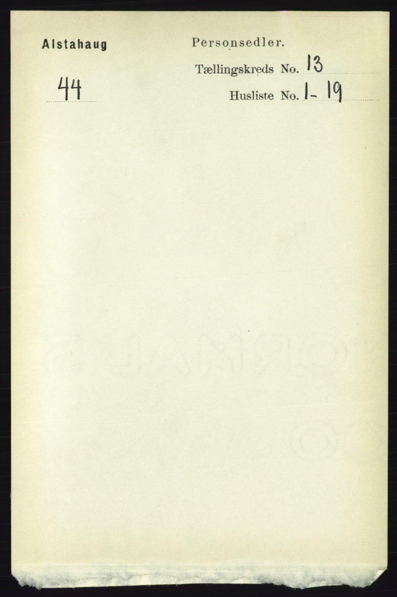 RA, Folketelling 1891 for 1820 Alstahaug herred, 1891, s. 4656