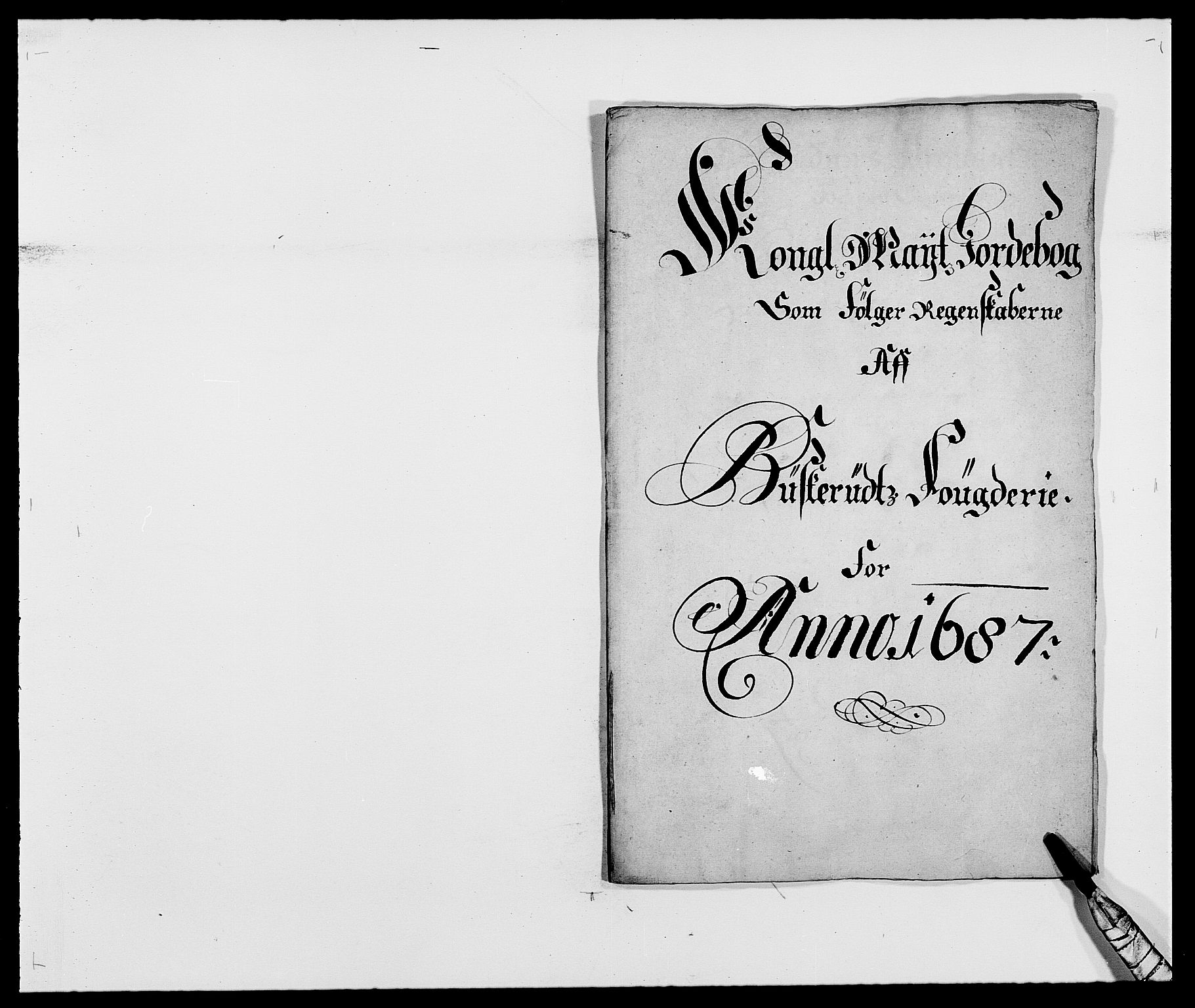 RA, Rentekammeret inntil 1814, Reviderte regnskaper, Fogderegnskap, R25/L1679: Fogderegnskap Buskerud, 1687-1688, s. 15