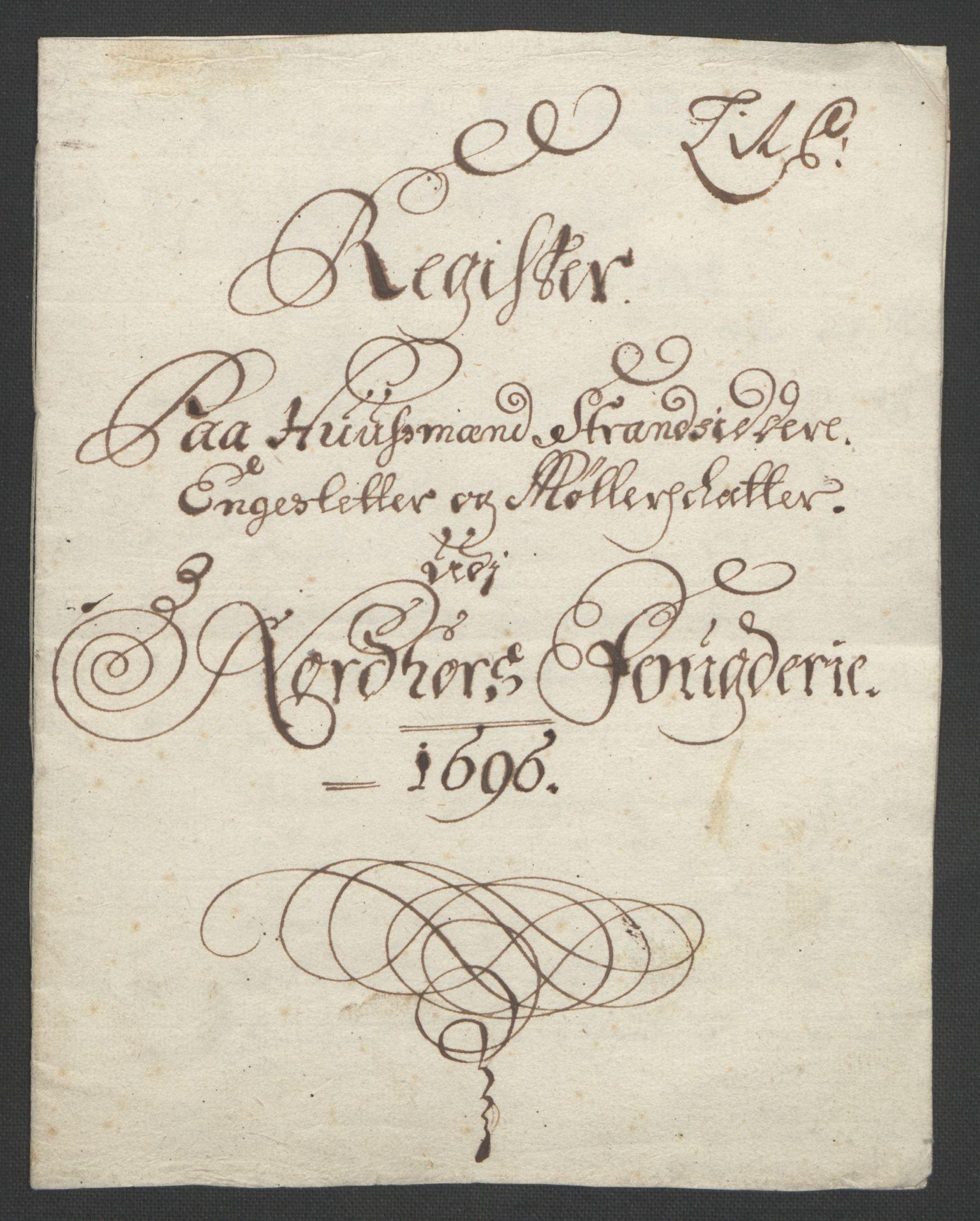 RA, Rentekammeret inntil 1814, Reviderte regnskaper, Fogderegnskap, R51/L3183: Fogderegnskap Nordhordland og Voss, 1695-1697, s. 265