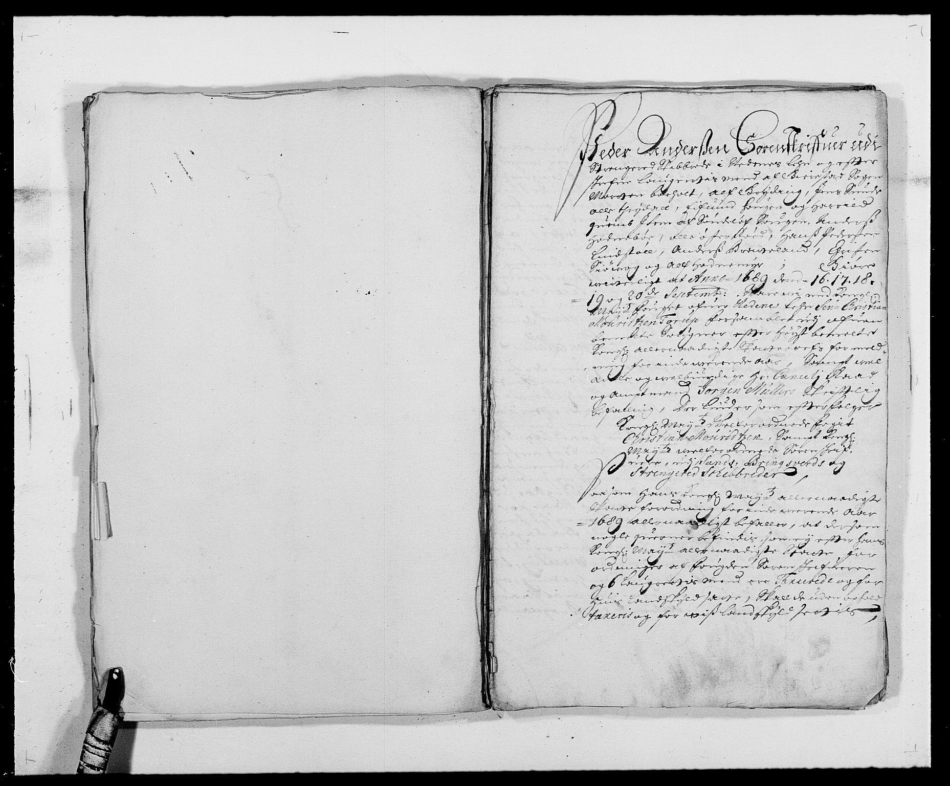 RA, Rentekammeret inntil 1814, Reviderte regnskaper, Fogderegnskap, R39/L2309: Fogderegnskap Nedenes, 1684-1689, s. 329