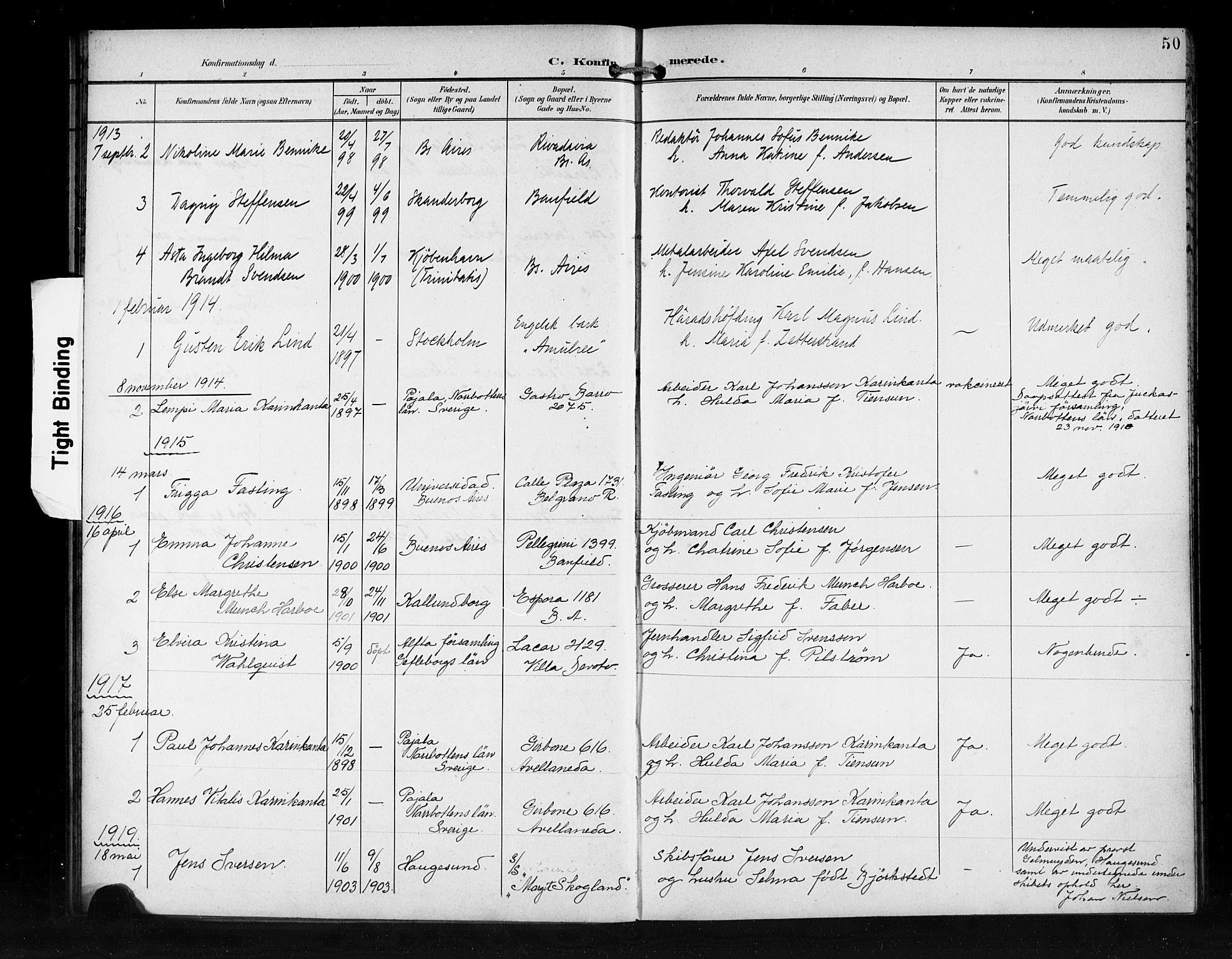 SAB, Den Norske Sjømannsmisjon i utlandet*, Ministerialbok nr. A 2, 1899-1919, s. 50