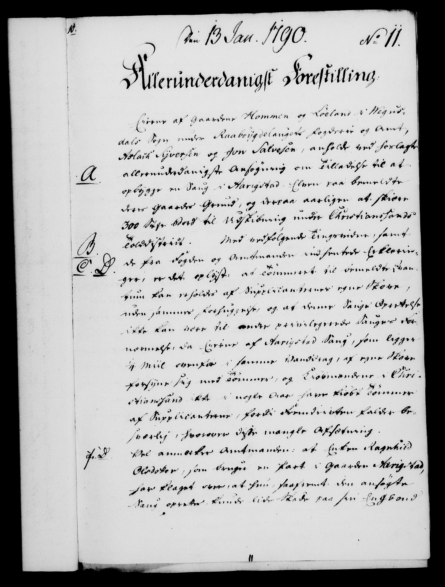 RA, Rentekammeret, Kammerkanselliet, G/Gf/Gfa/L0072: Norsk relasjons- og resolusjonsprotokoll (merket RK 52.72), 1790, s. 88