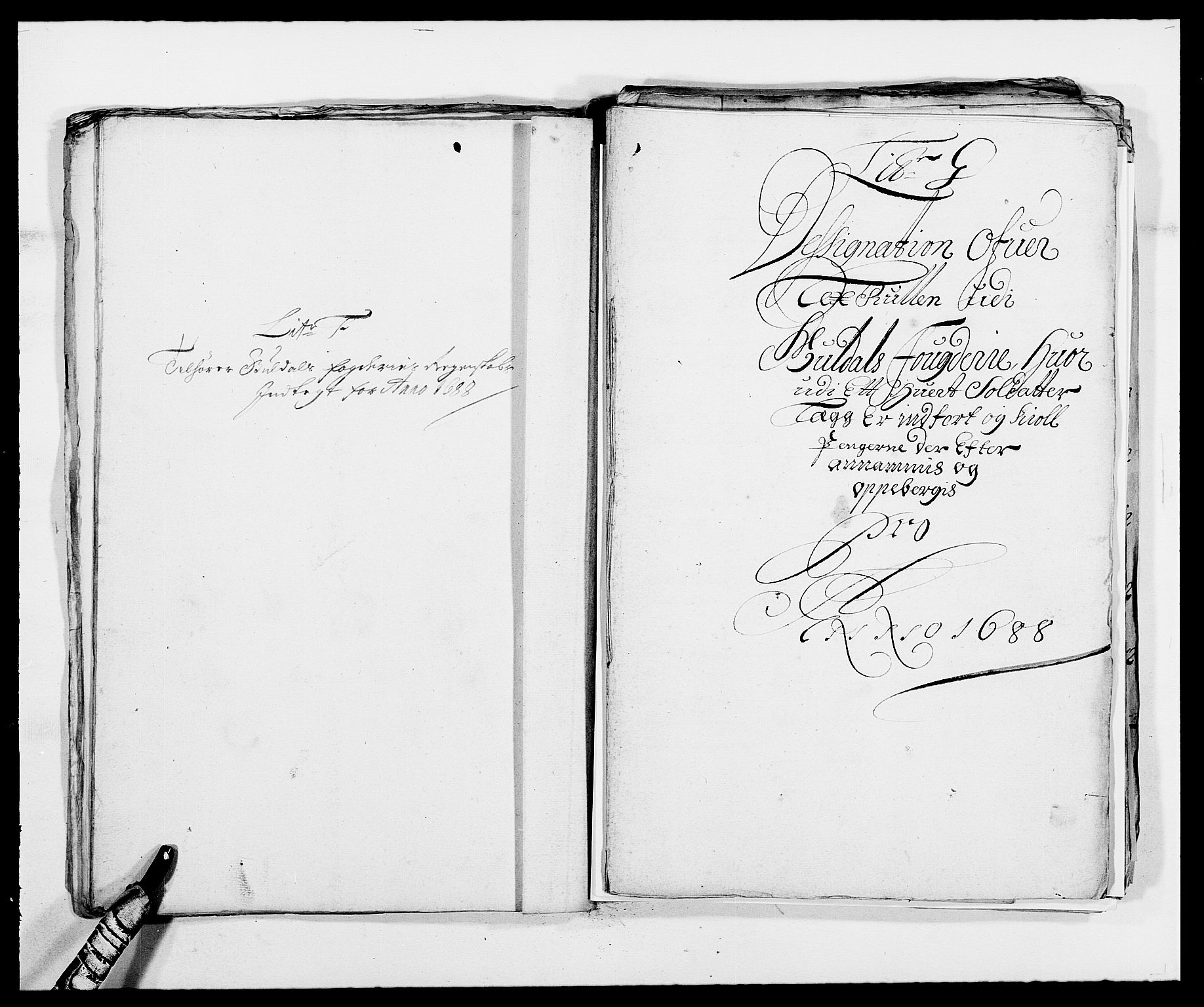 RA, Rentekammeret inntil 1814, Reviderte regnskaper, Fogderegnskap, R59/L3939: Fogderegnskap Gauldal, 1687-1688, s. 218