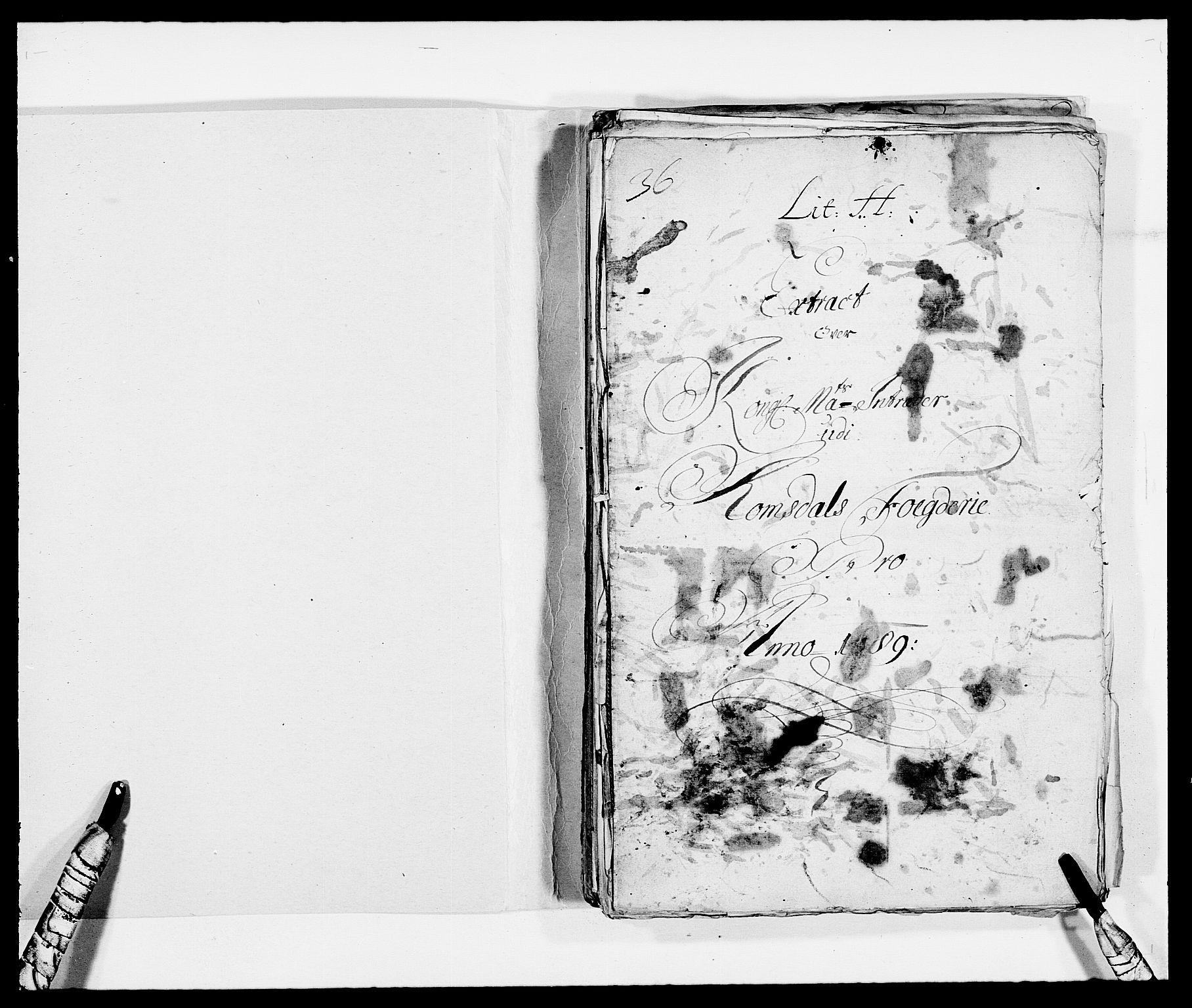 RA, Rentekammeret inntil 1814, Reviderte regnskaper, Fogderegnskap, R55/L3648: Fogderegnskap Romsdal, 1687-1689, s. 310