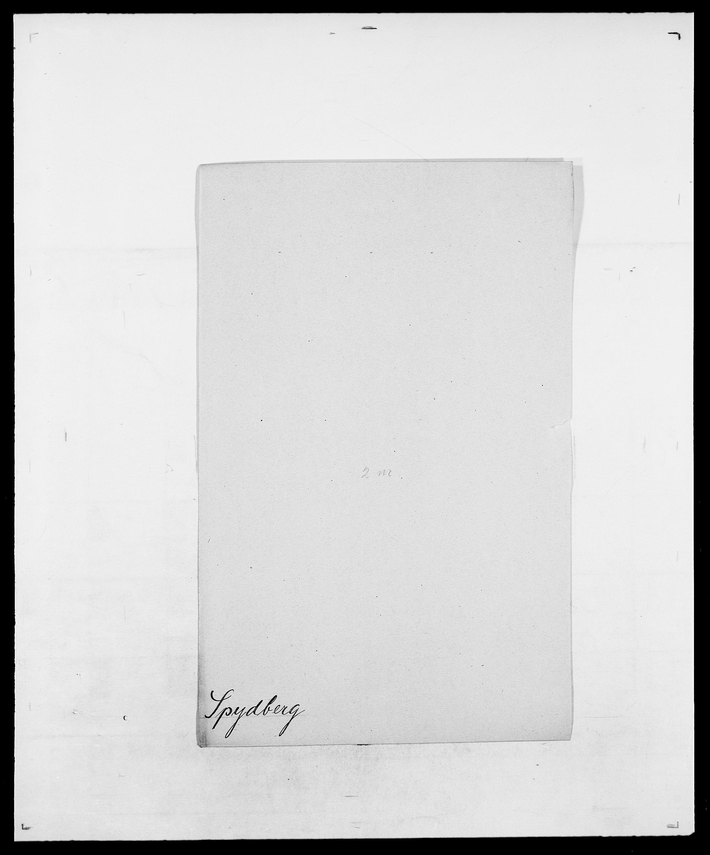 SAO, Delgobe, Charles Antoine - samling, D/Da/L0036: Skaanør - Staverskov, s. 590