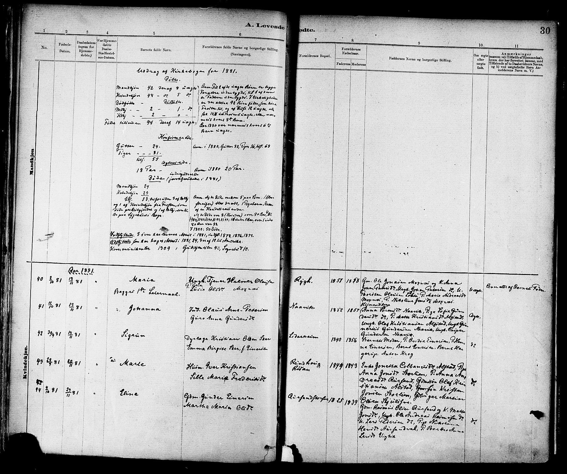 SAT, Ministerialprotokoller, klokkerbøker og fødselsregistre - Nord-Trøndelag, 713/L0120: Ministerialbok nr. 713A09, 1878-1887, s. 30