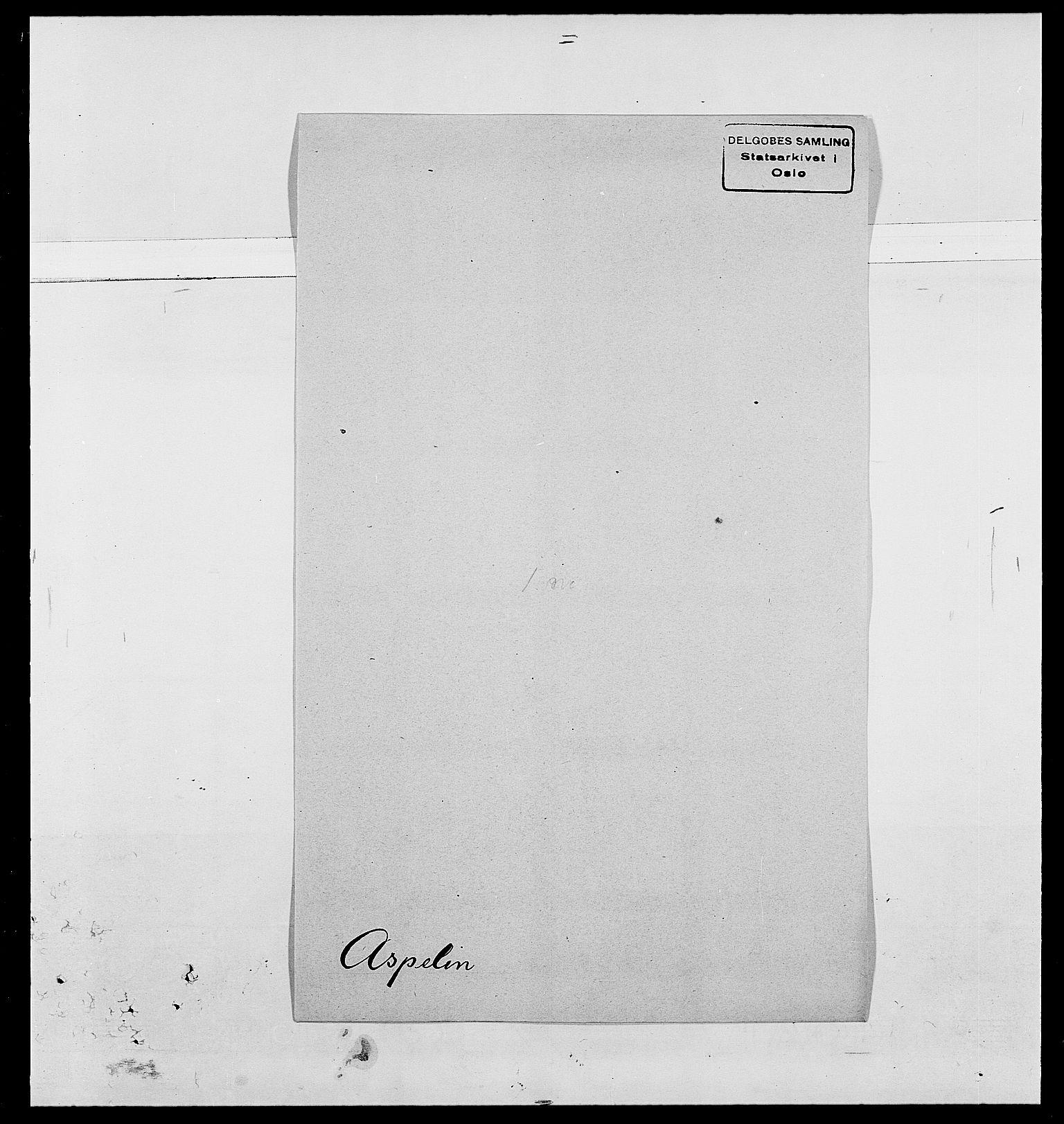 SAO, Delgobe, Charles Antoine - samling, D/Da/L0002: Anker, Ancher - Bauner, s. 449