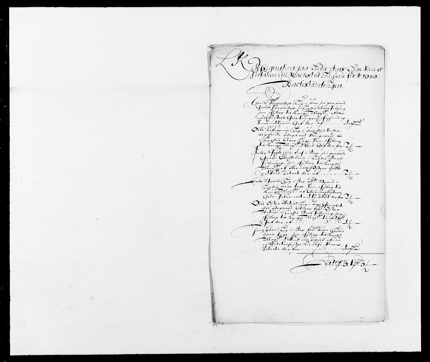 RA, Rentekammeret inntil 1814, Reviderte regnskaper, Fogderegnskap, R05/L0275: Fogderegnskap Rakkestad, 1685-1686, s. 188