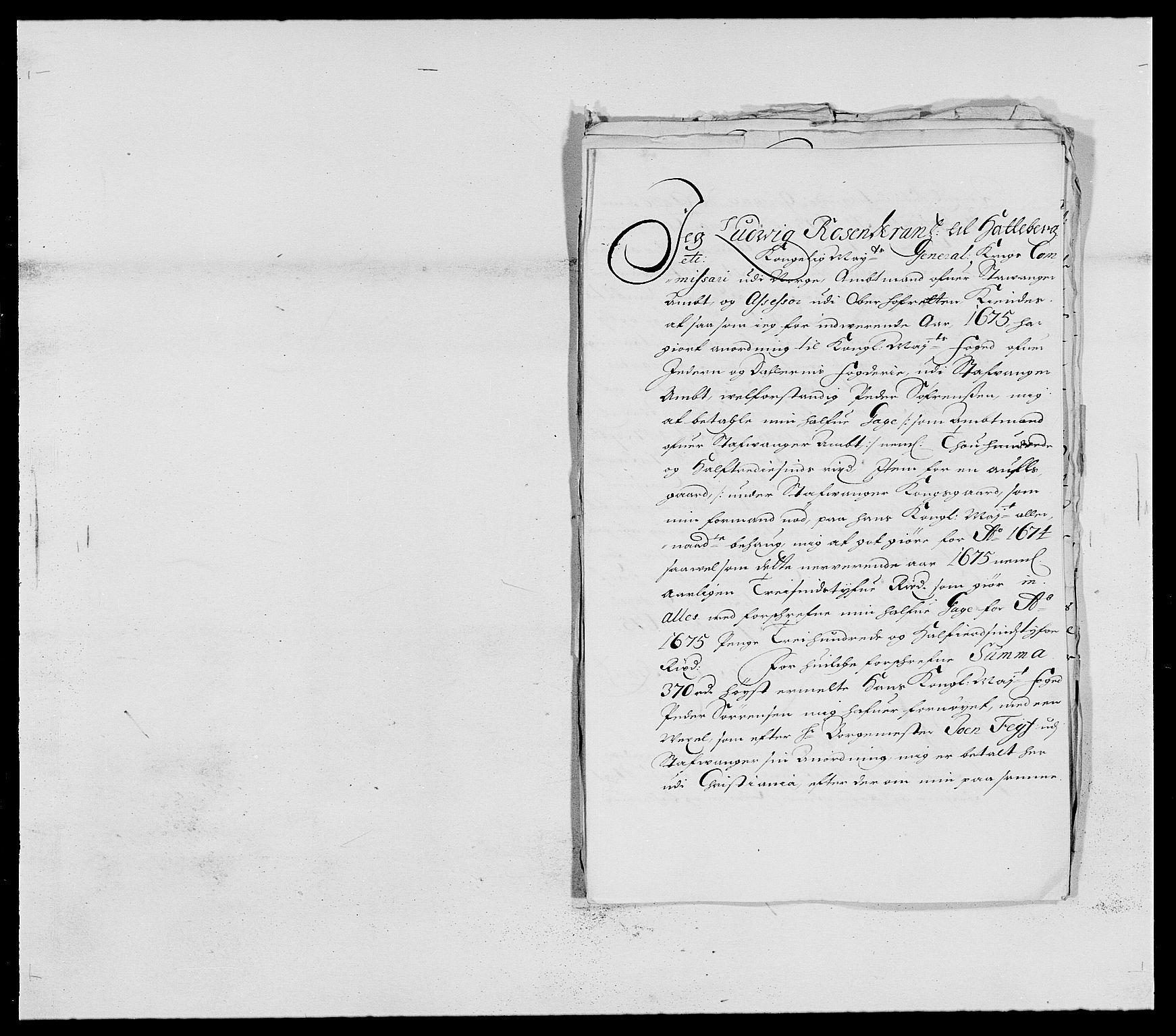 RA, Rentekammeret inntil 1814, Reviderte regnskaper, Fogderegnskap, R46/L2715: Fogderegnskap Jæren og Dalane, 1675, s. 334