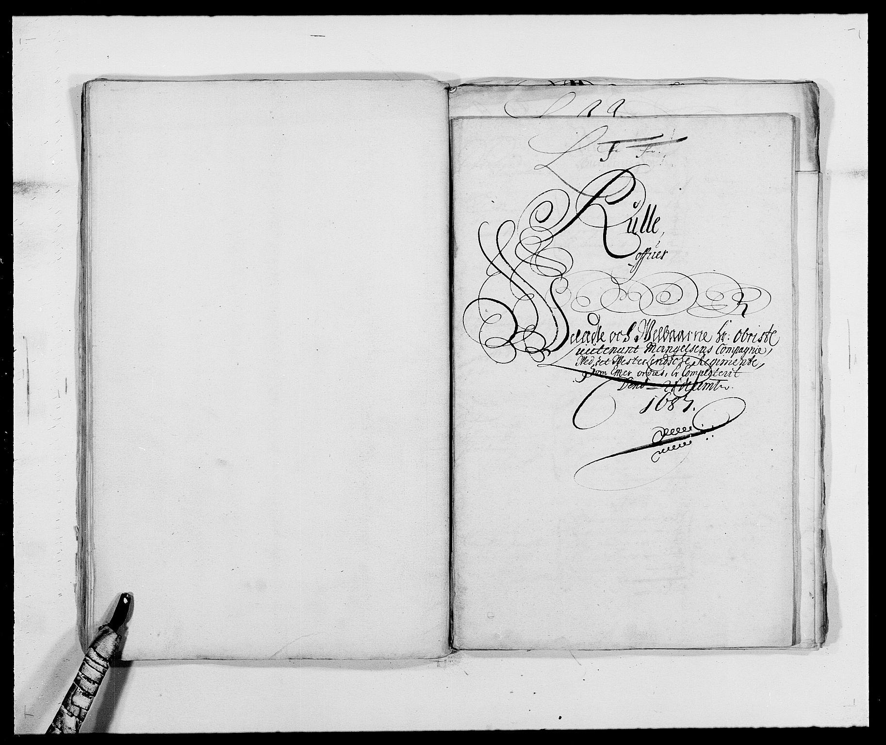 RA, Rentekammeret inntil 1814, Reviderte regnskaper, Fogderegnskap, R39/L2309: Fogderegnskap Nedenes, 1684-1689, s. 30